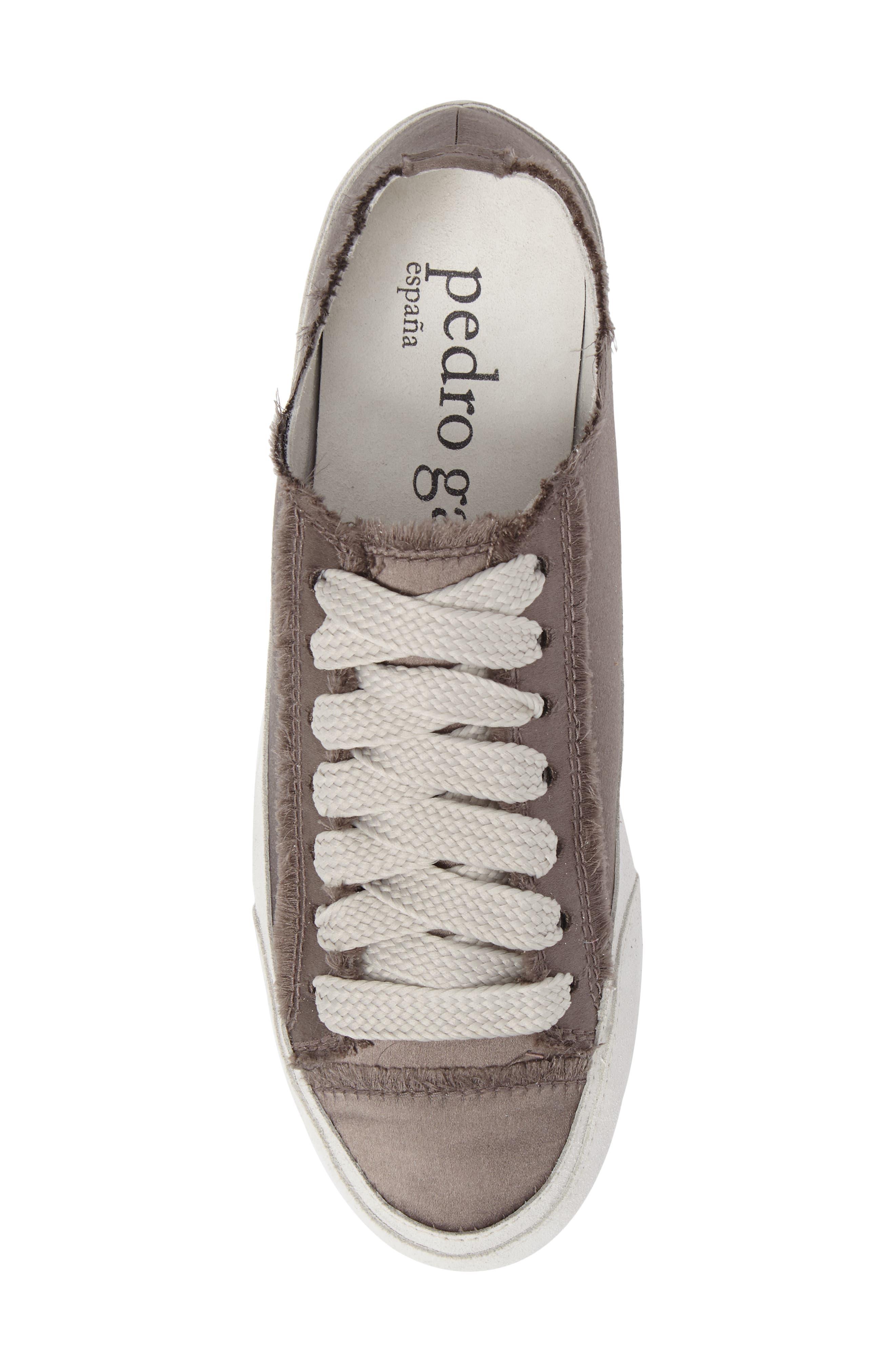 'Parson' Satin Sneaker,                             Alternate thumbnail 4, color,                             Truffle Satin