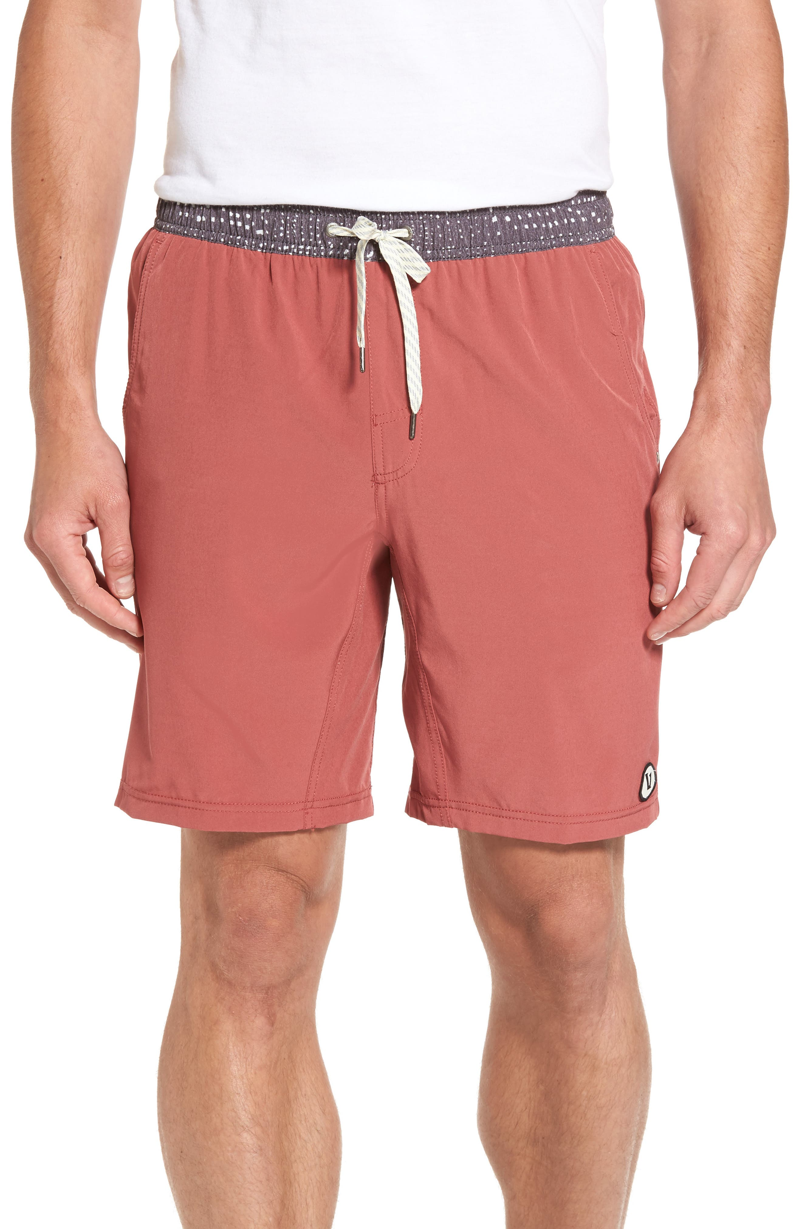 Kore Performance Shorts,                         Main,                         color, Saltwater Red
