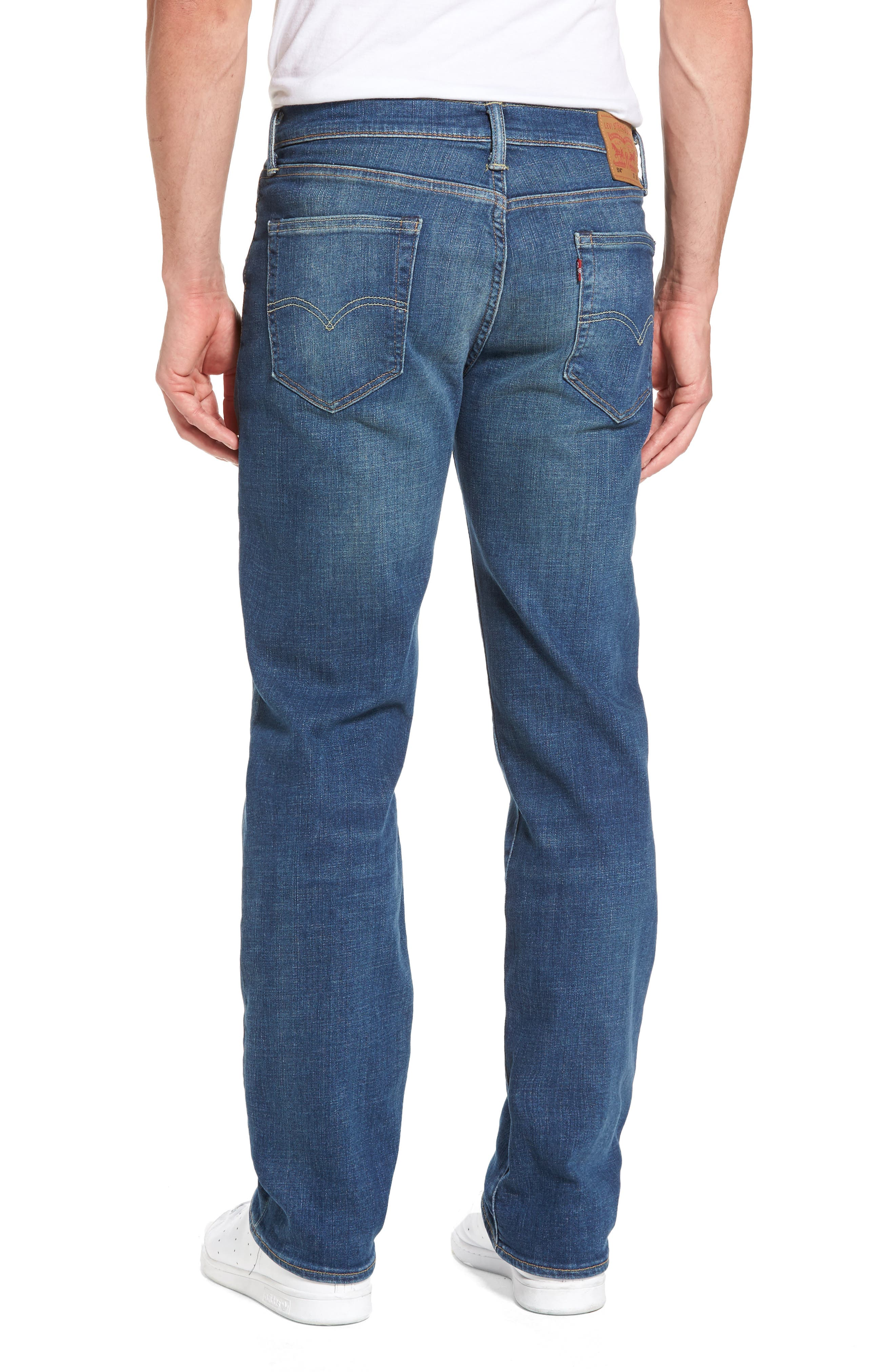 Alternate Image 2  - Levi's® 514™ Straight Leg Jeans (Yoke)