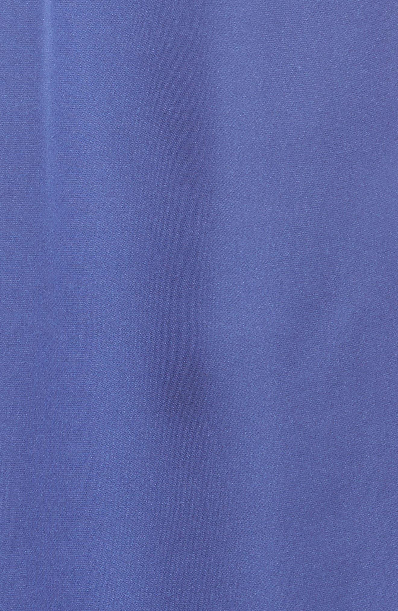 Lucia Silk Blouse,                             Alternate thumbnail 5, color,                             Lavender