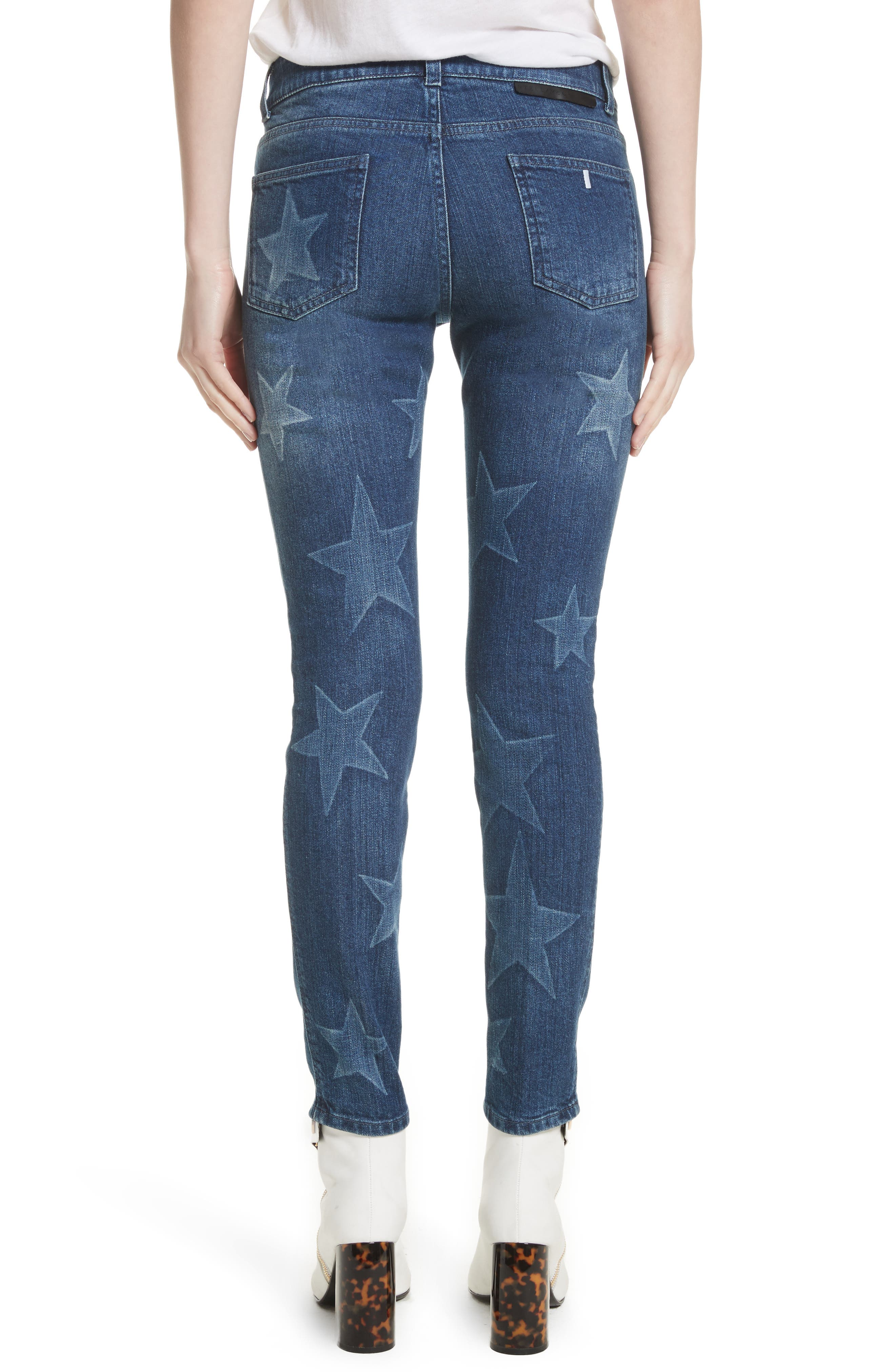 Alternate Image 2  - Stella McCartney Skinny Ankle Grazer Star Jeans