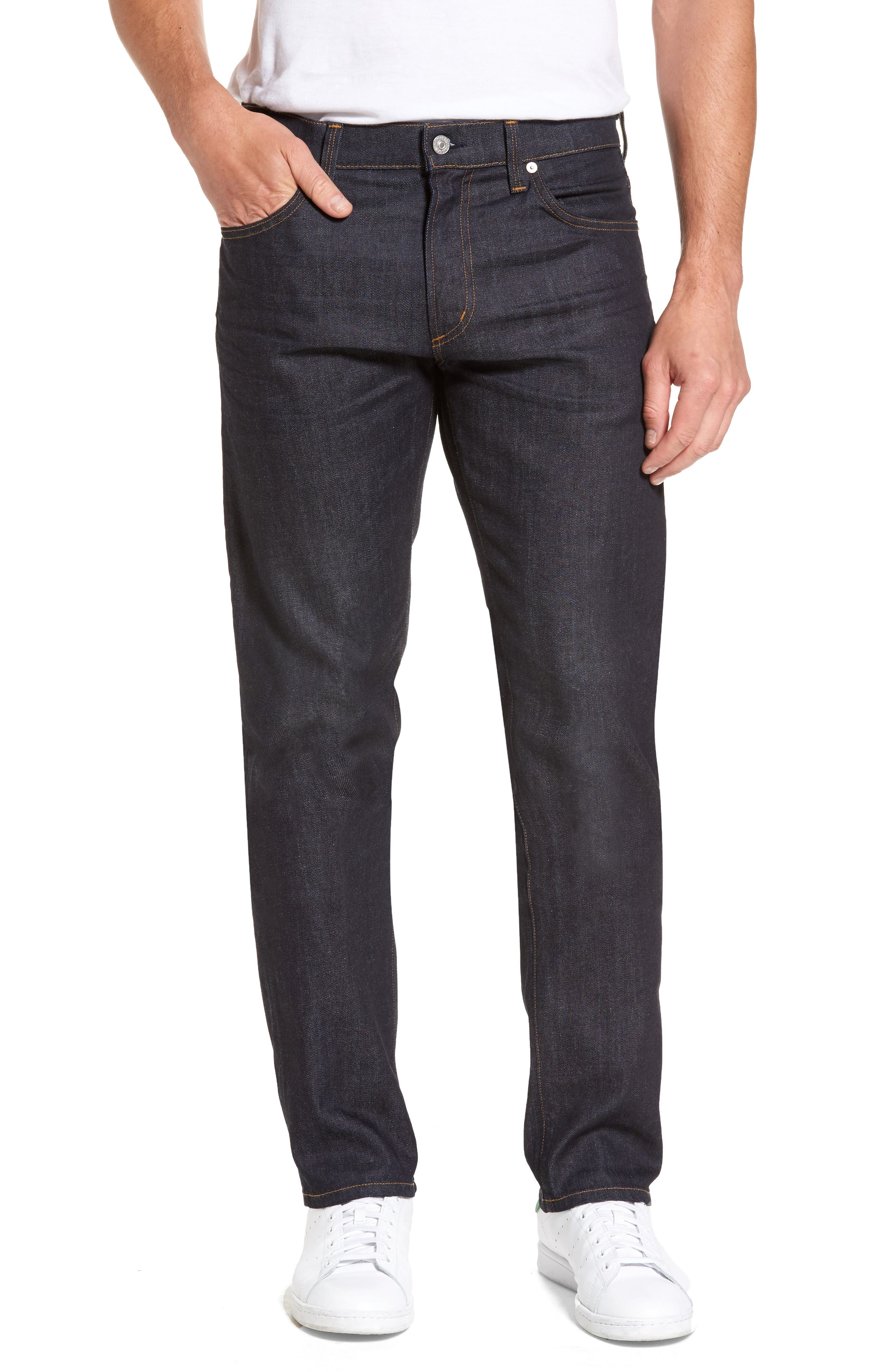 Core Slim Straight Leg Jeans,                         Main,                         color, Lafayette
