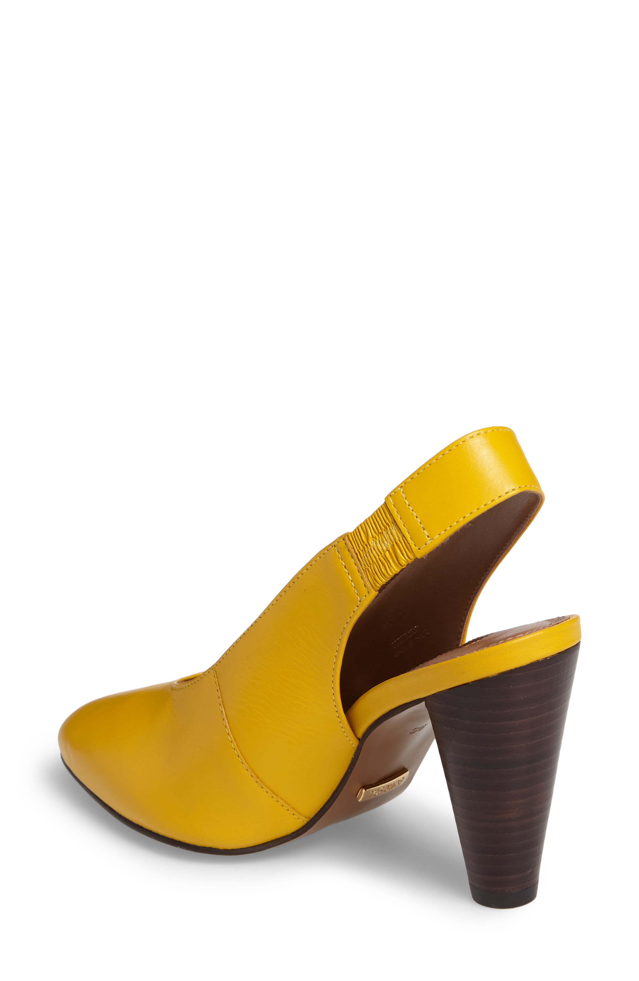 Gabriel Slingback Pump,                             Alternate thumbnail 2, color,                             Yellow