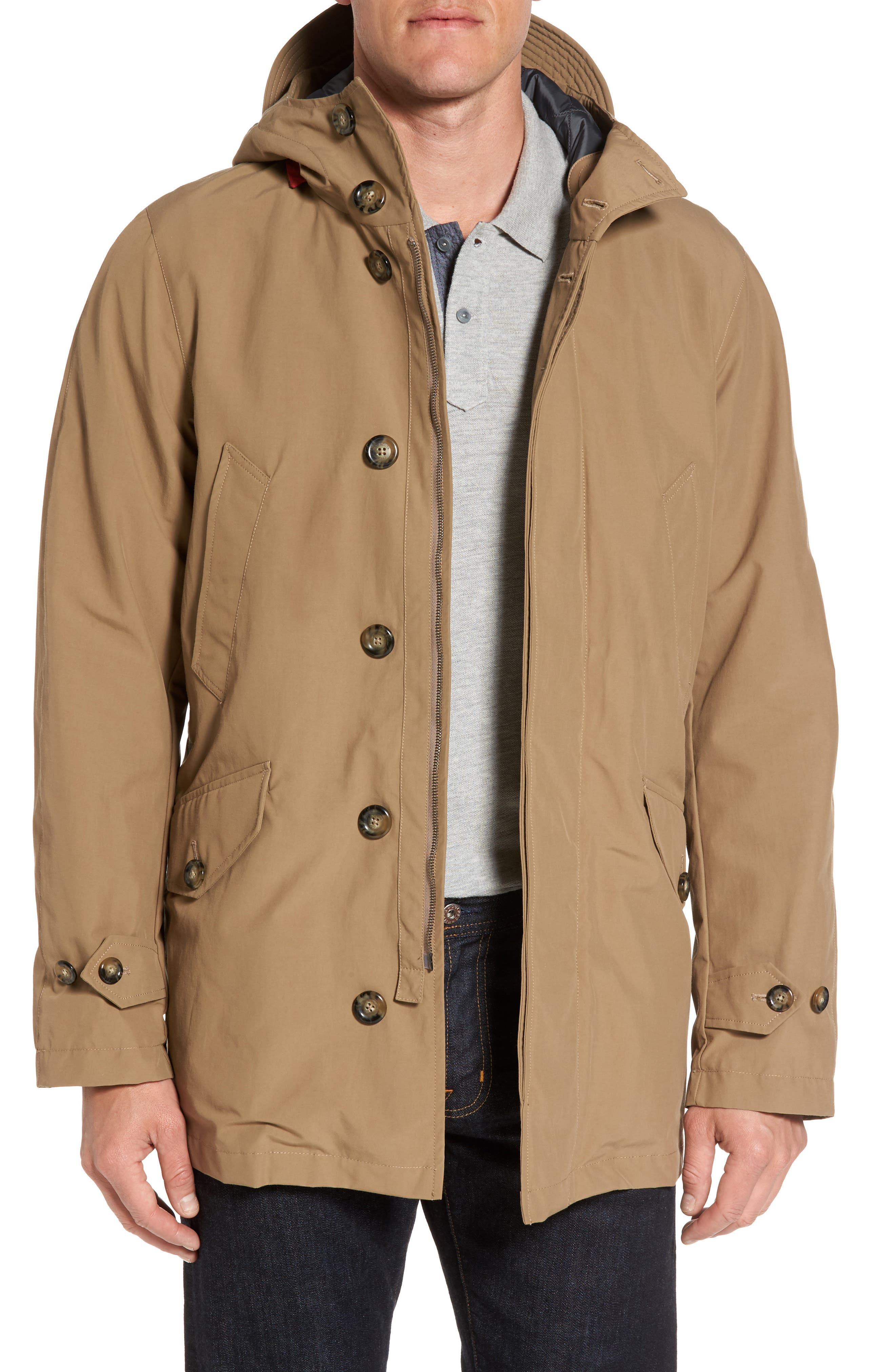 Alternate Image 1 Selected - Baracuta Knott Waterproof Parka