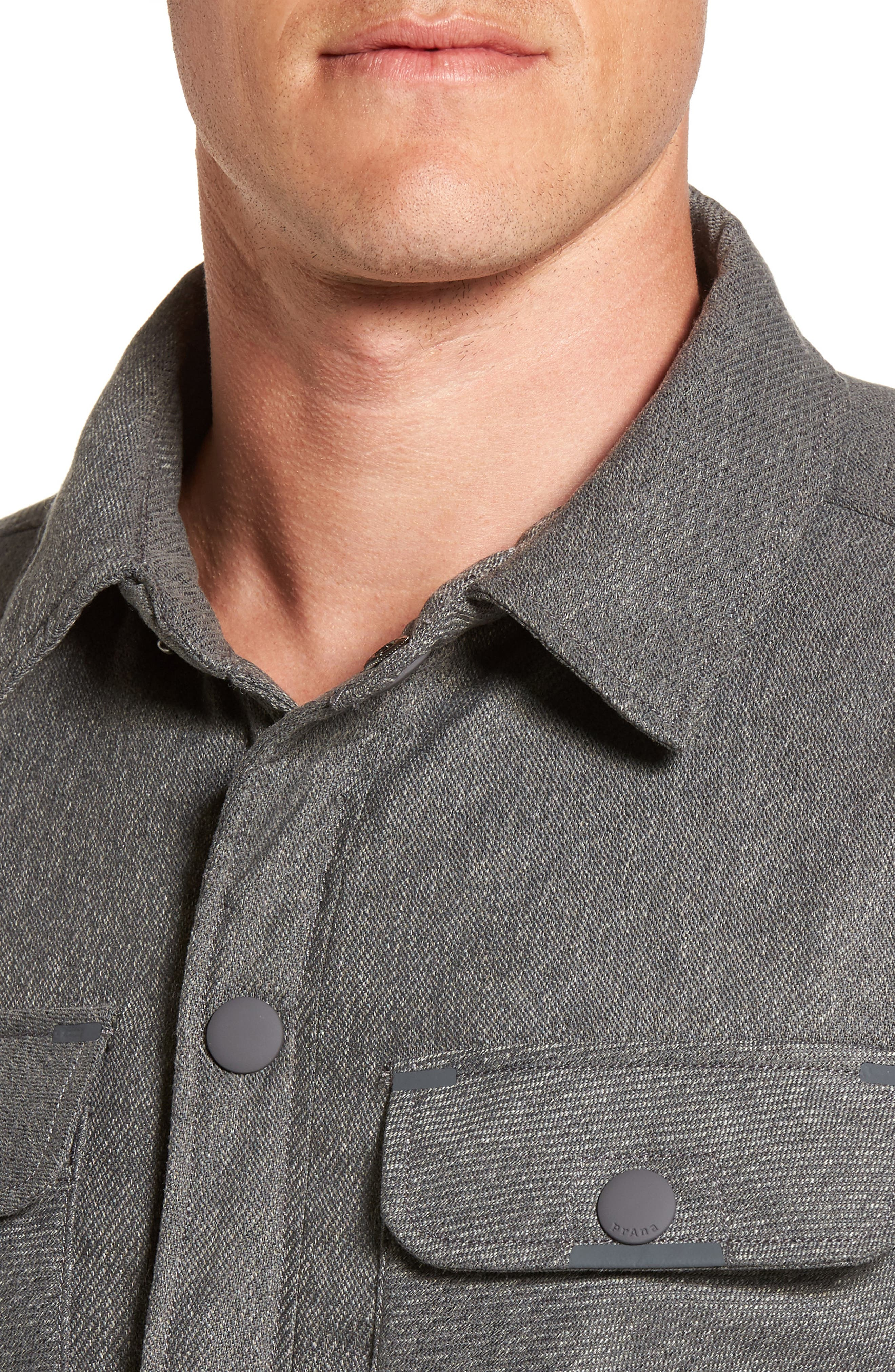 Alternate Image 4  - Prana Showdown Shirt Jacket