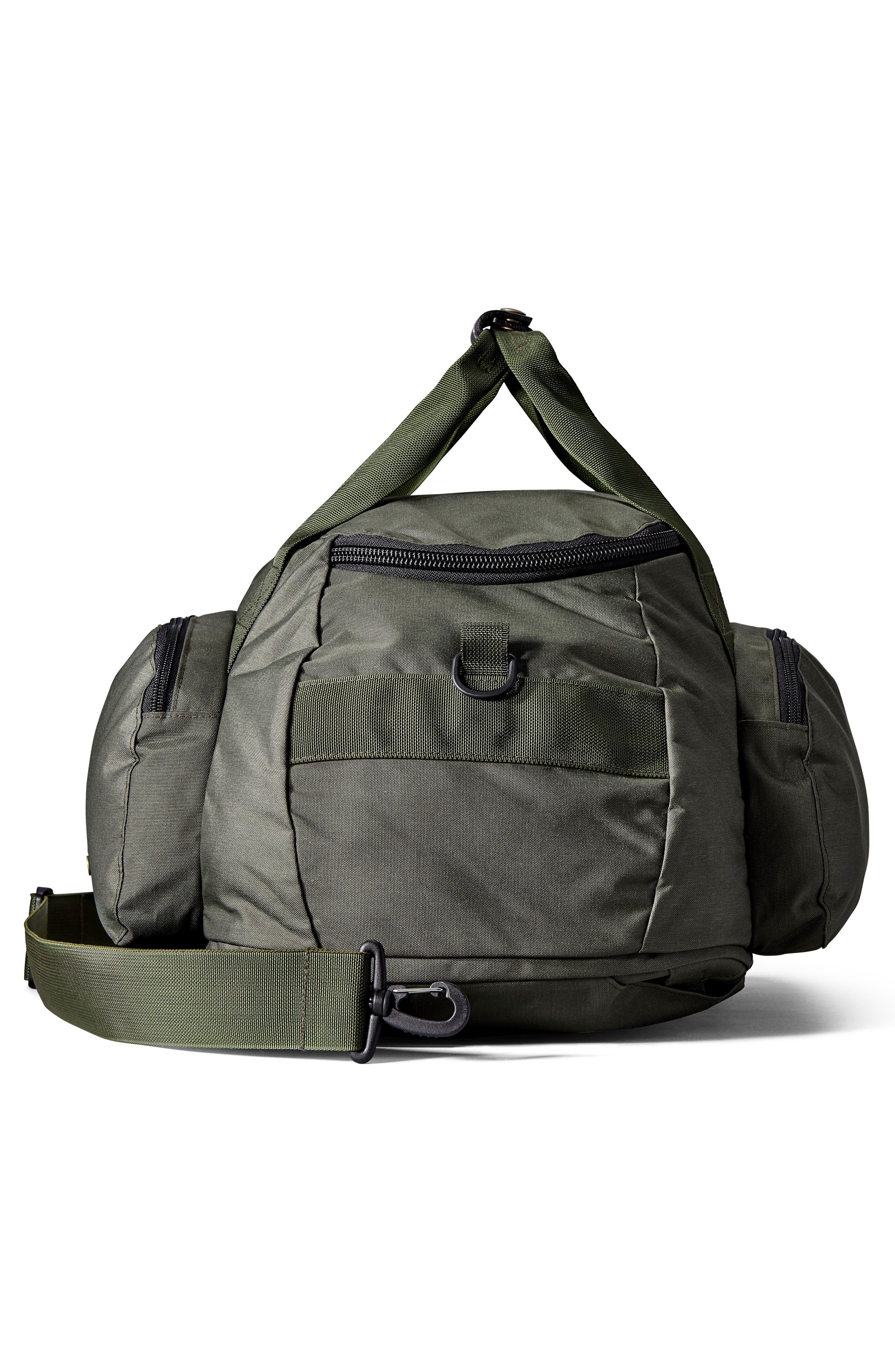 Convertible Duffel Bag,                             Alternate thumbnail 7, color,                             Otter Green