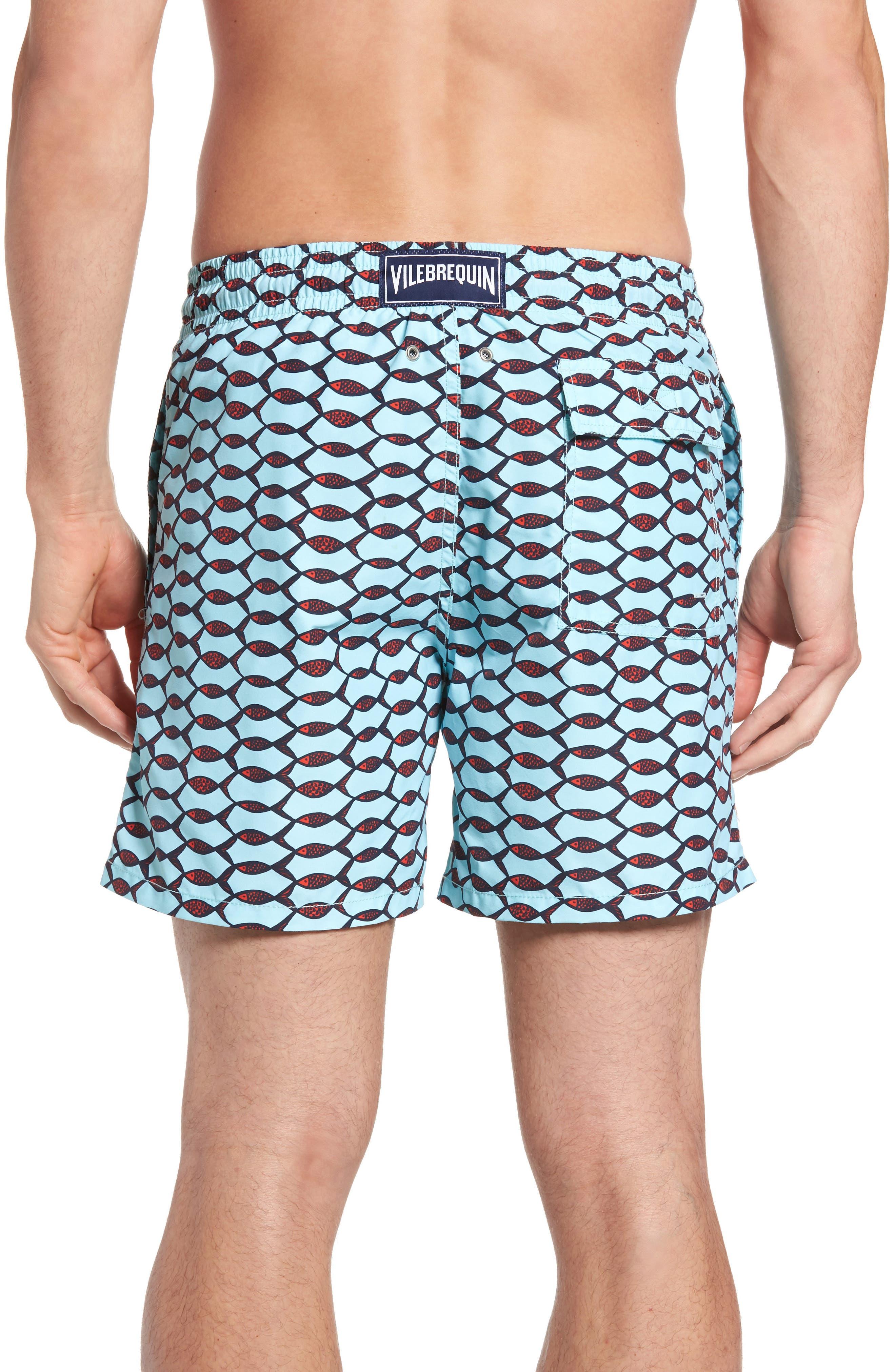 Alternate Image 2  - Vilebrequin Moorea Fishnet Print Swim Trunks