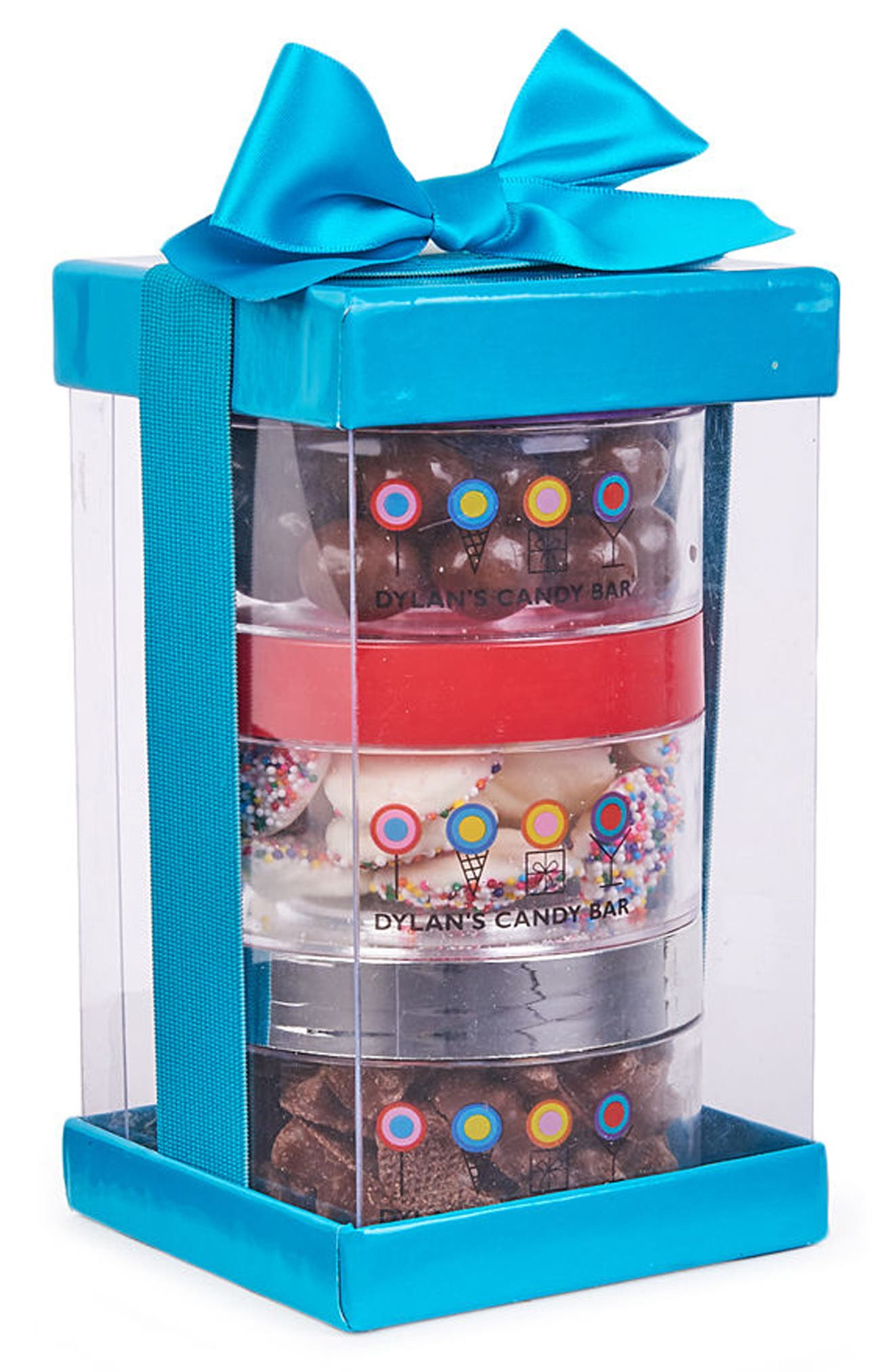 Chocolate Stack-A-Round 3-Pack Signature Gift Set,                             Alternate thumbnail 2, color,                             Blue
