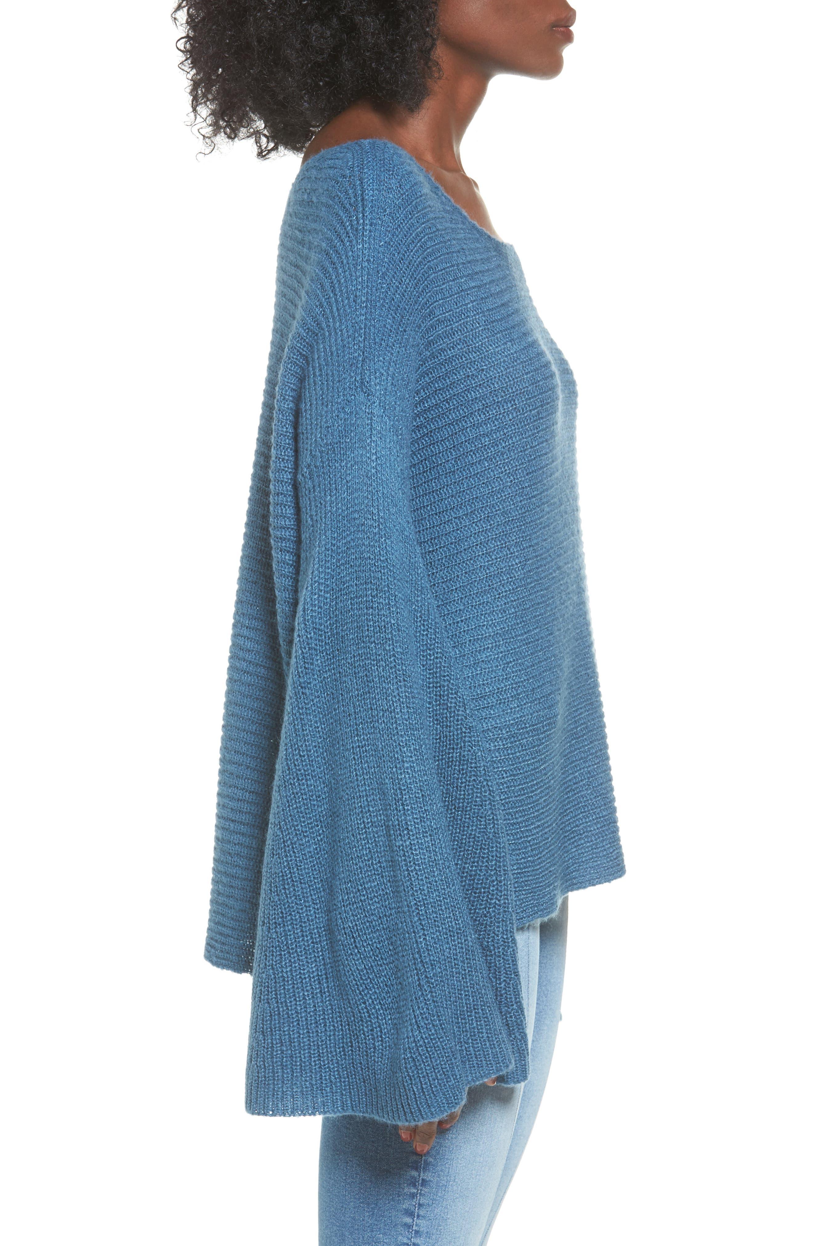 Alternate Image 3  - BP. Flare Sleeve Sweater