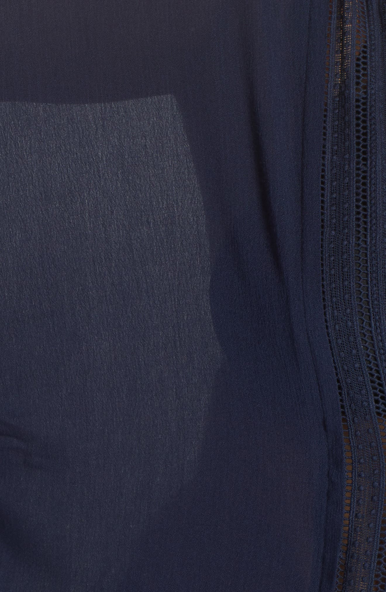 Serendipity Cover-Up Tunic,                             Alternate thumbnail 5, color,                             Navy
