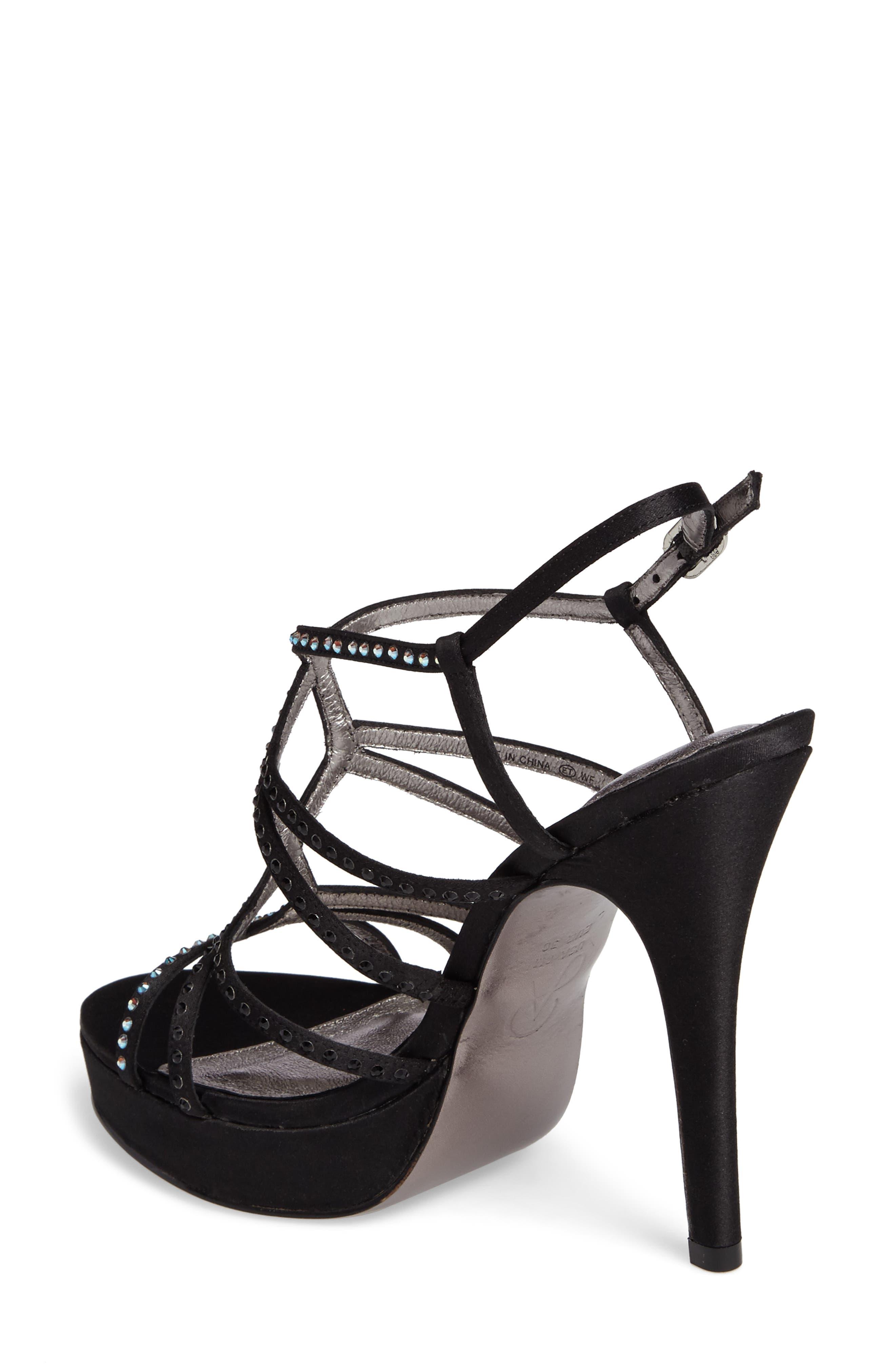 Alternate Image 2  - Adrianna Papell Miranda Embellished Platform Sandal (Women)