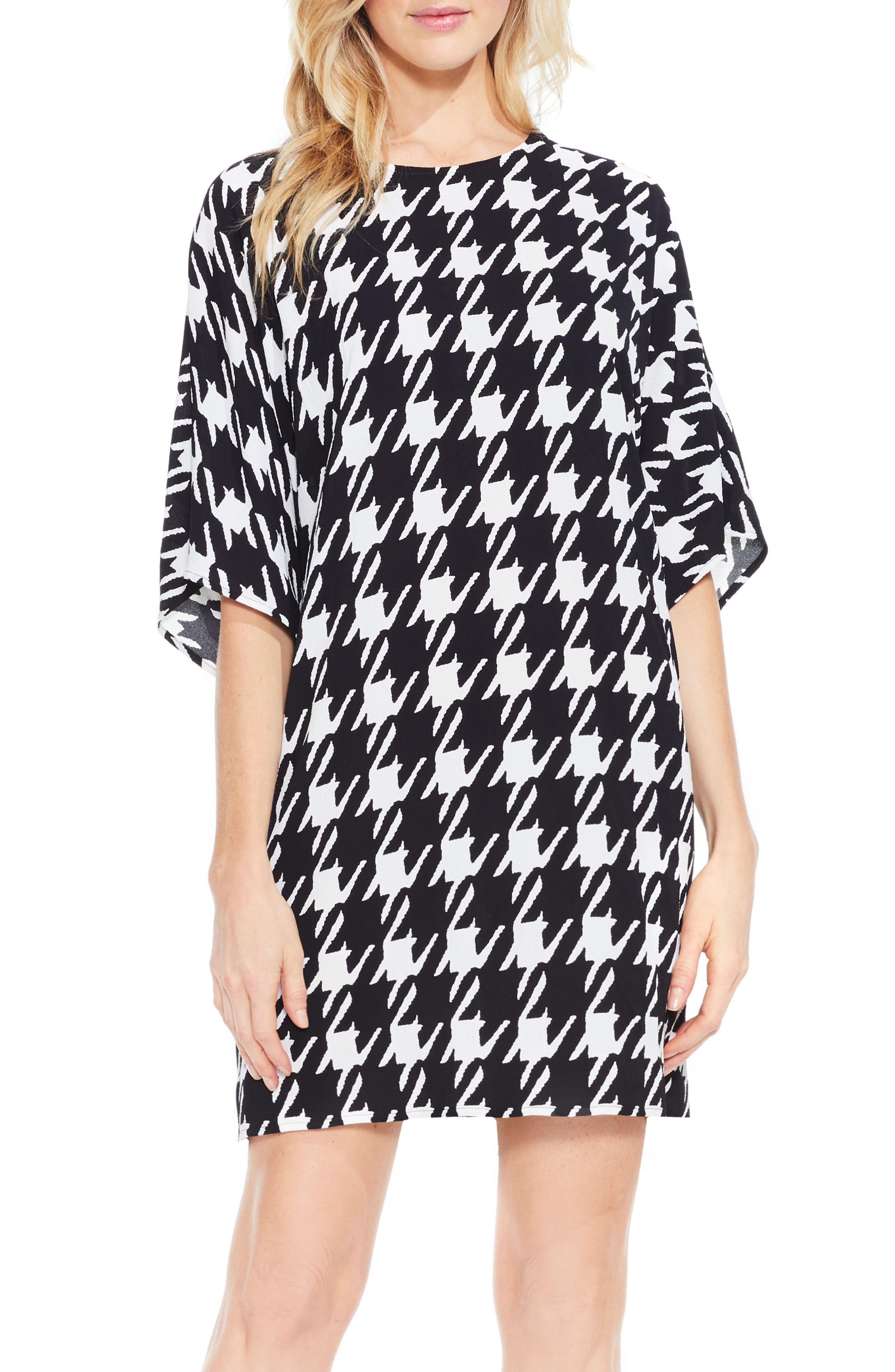VINCE CAMUTO Houndstooth Dress