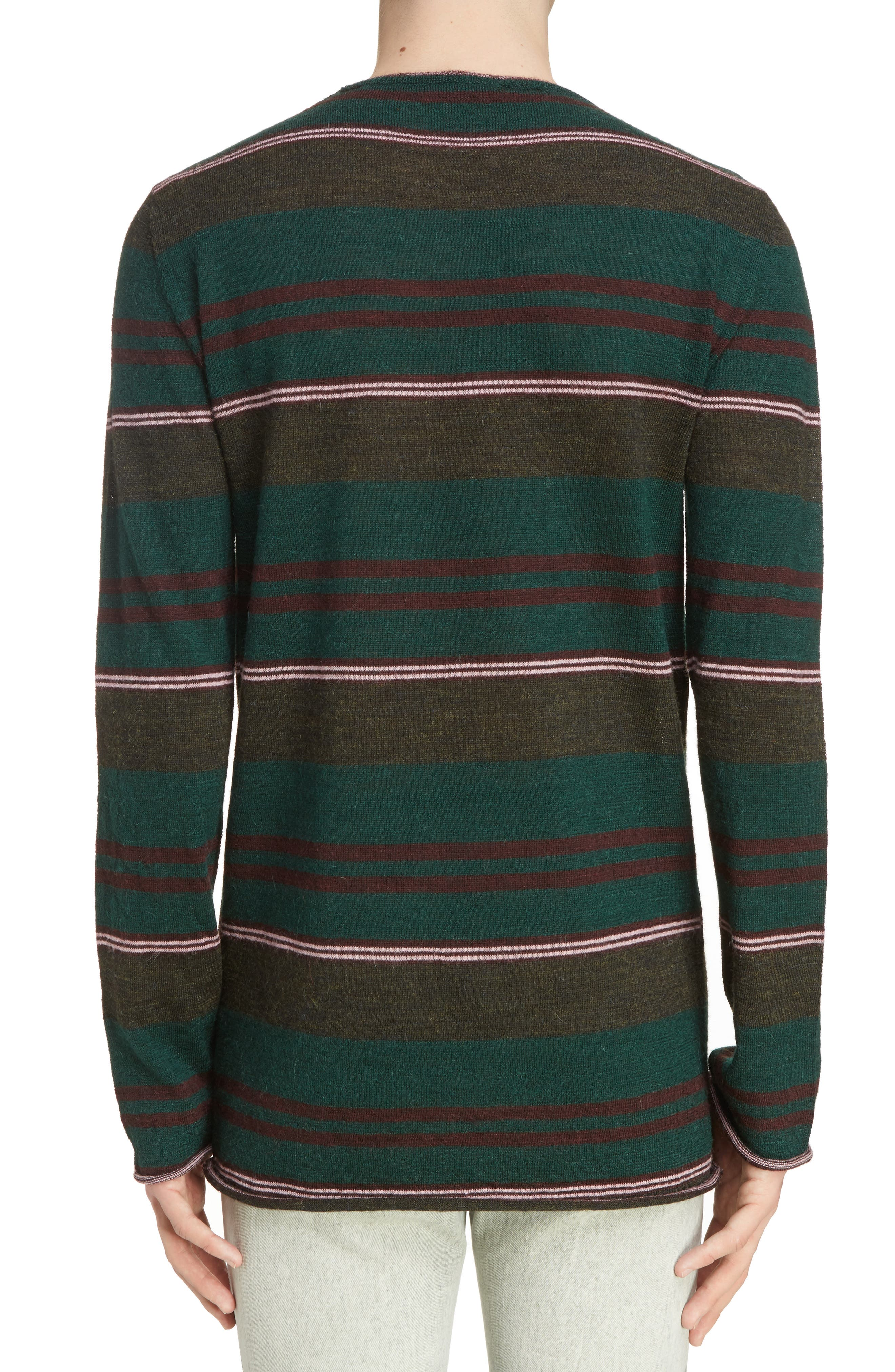 Alternate Image 2  - Lanvin Multistripe Wool Sweater