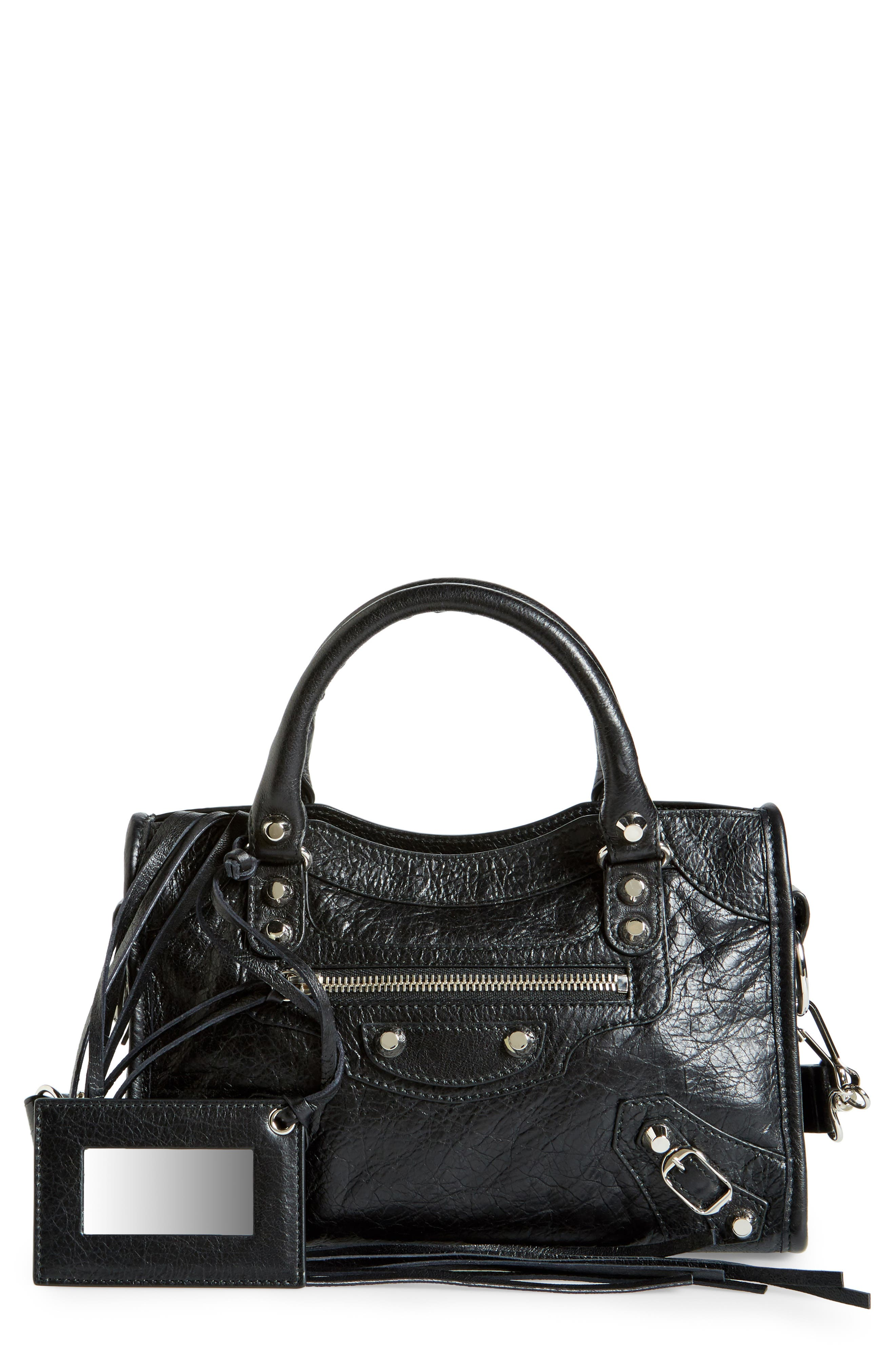 Alternate Image 1 Selected - Balenciaga Classic Mini City Leather Tote