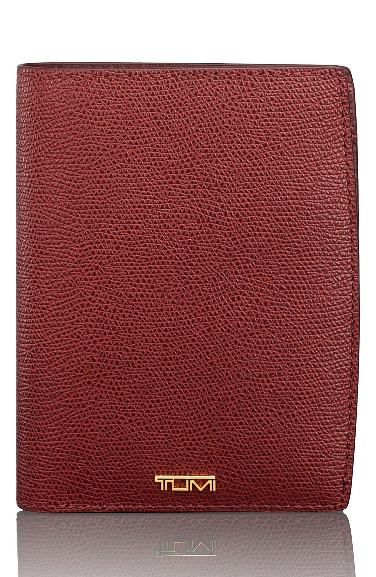 Tumi Sinclair Coated Canvas Passport Case