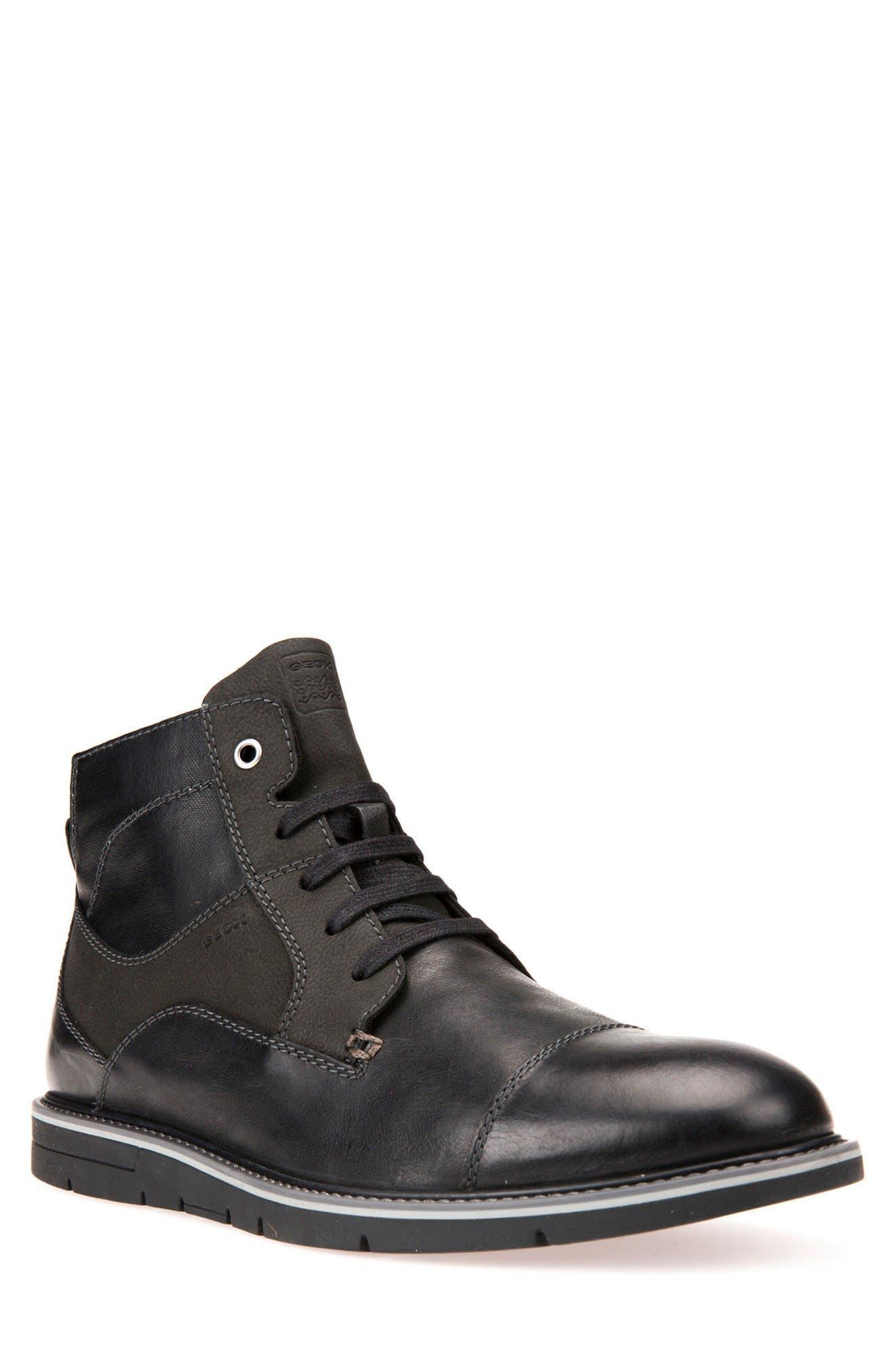 Geox Muvet 5 Cap Toe Boot (men)