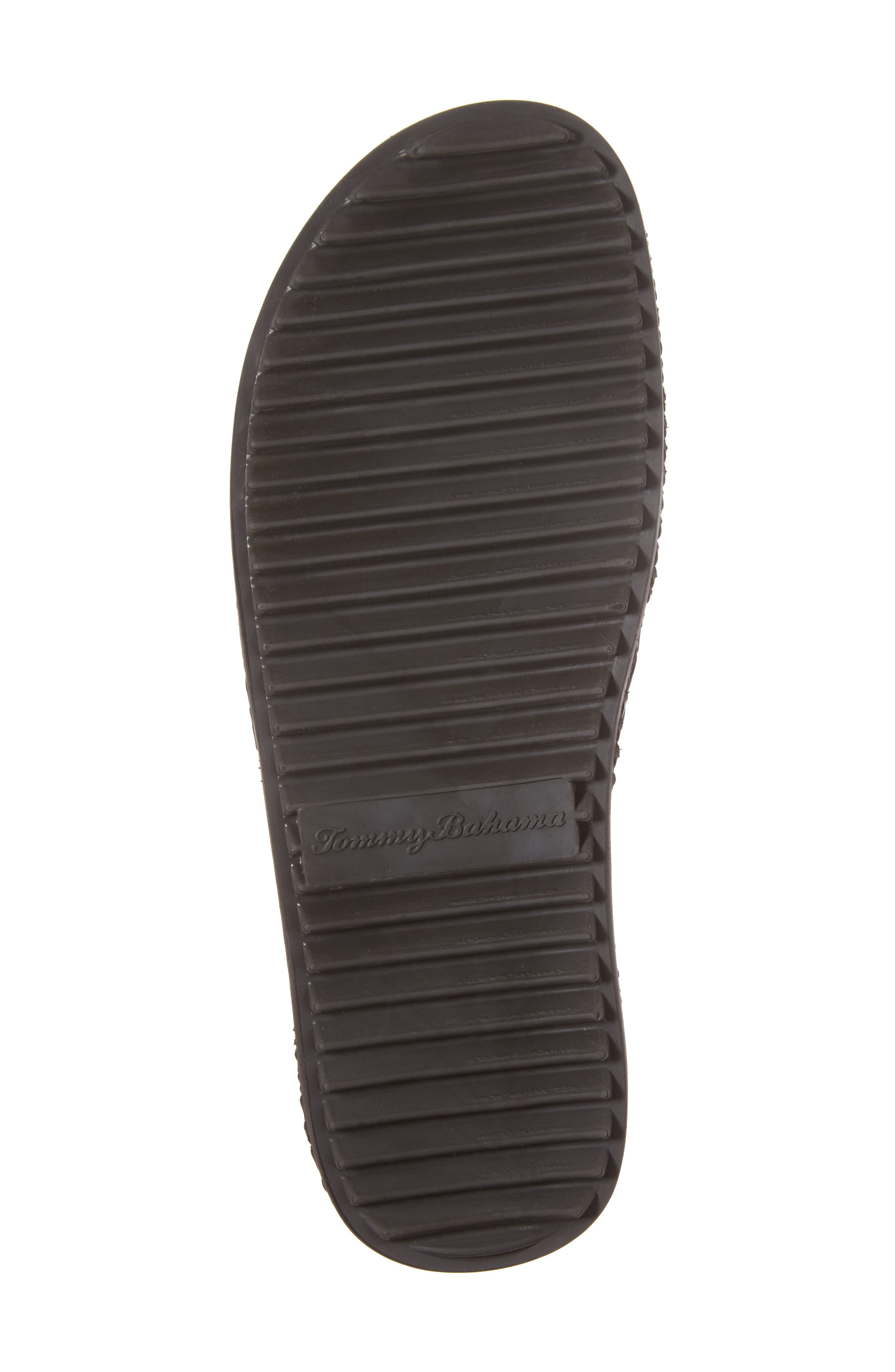 Shore Crest Woven Slide Sandal,                             Alternate thumbnail 6, color,                             Dark Brown