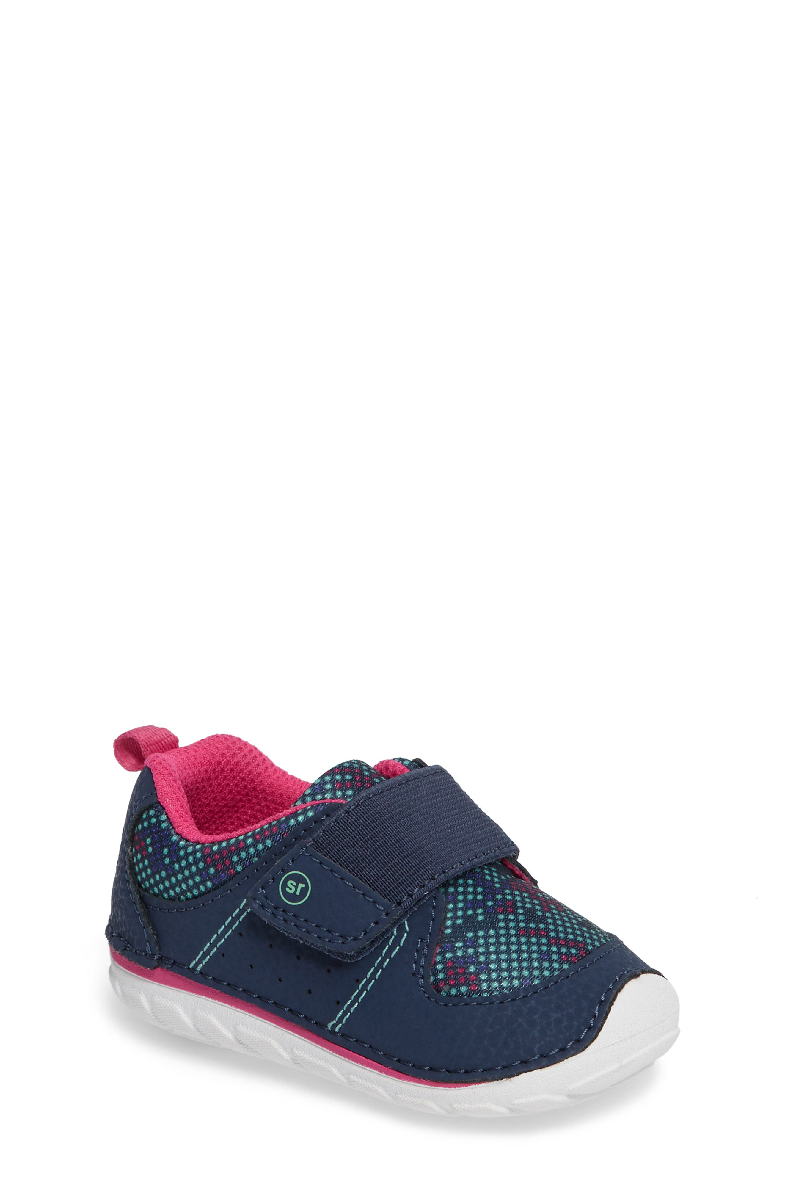 Soft Motion<sup>™</sup> Ripley Sneaker,                         Main,                         color, Navy