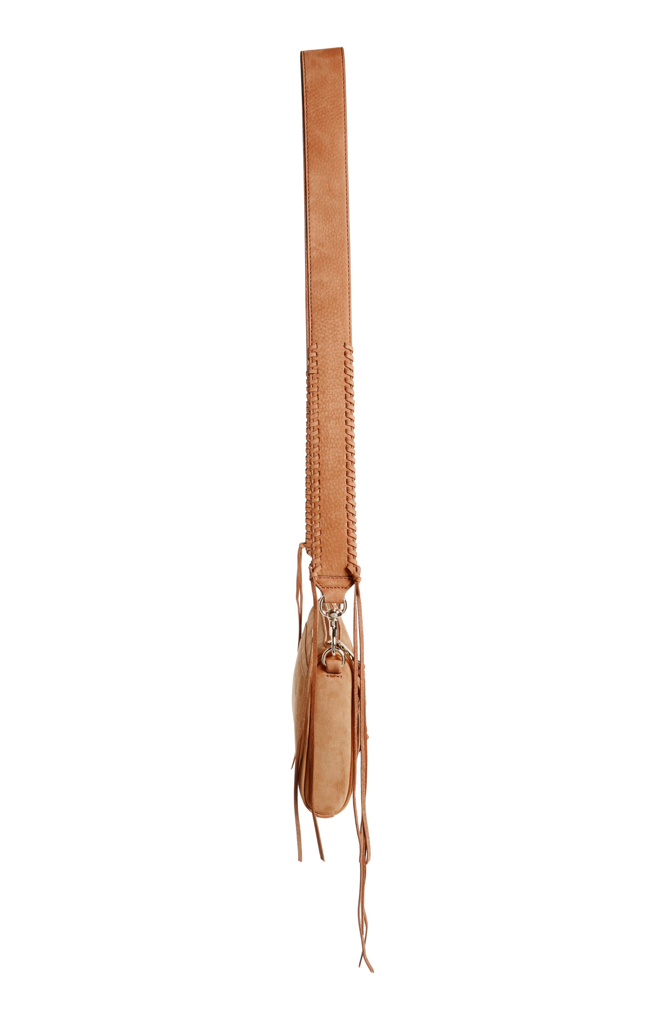 Mini MAC Convertible Crossbody Bag,                             Alternate thumbnail 5, color,                             Almond