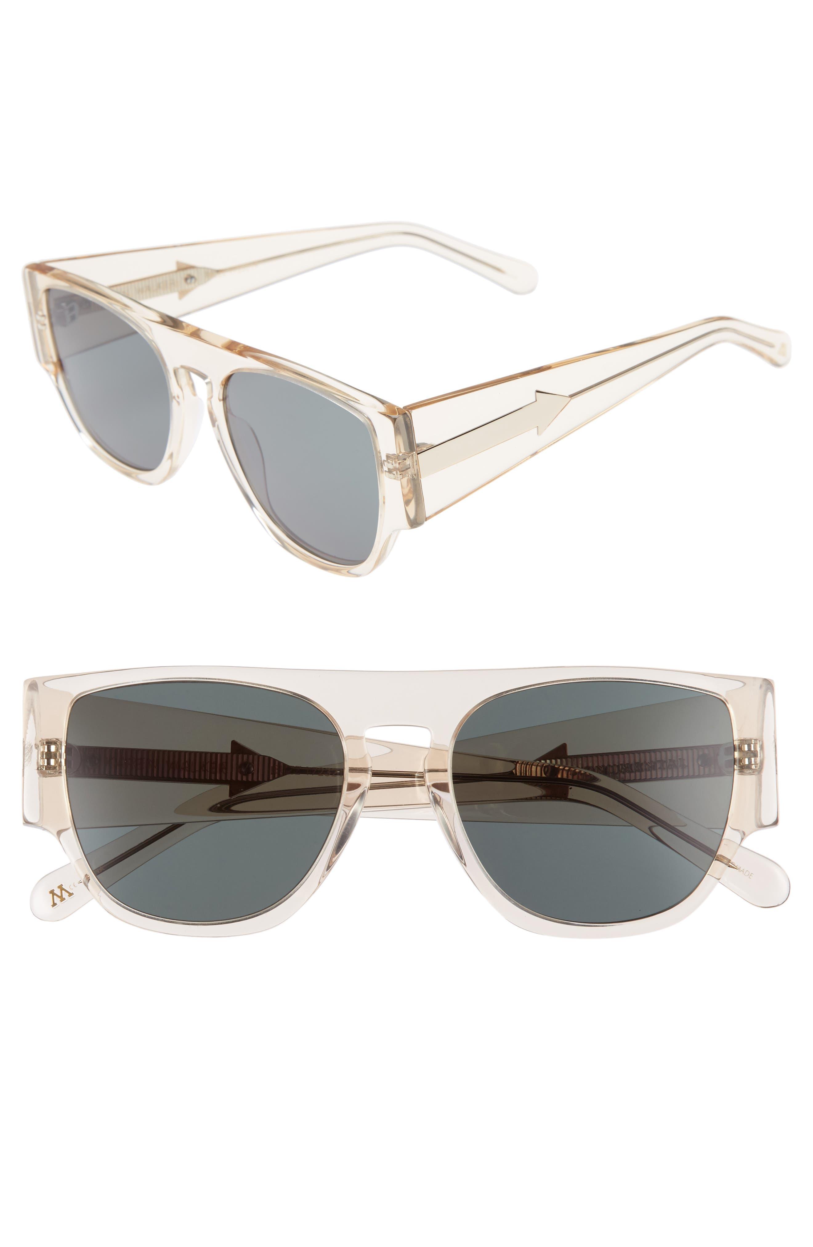 Karen Walker x Monumental Buzz 53mm Sunglasses