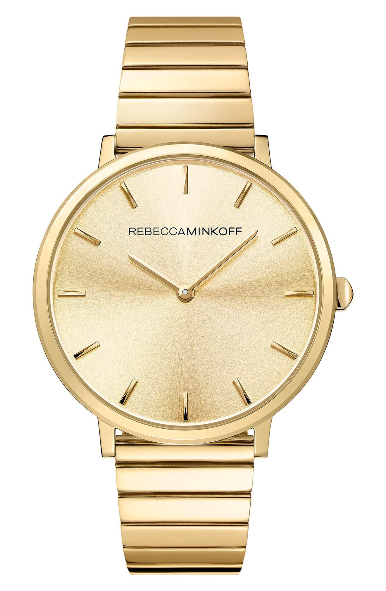 Alternate Image 1 Selected - Rebecca Minkoff Major Bracelet Watch, 35mm
