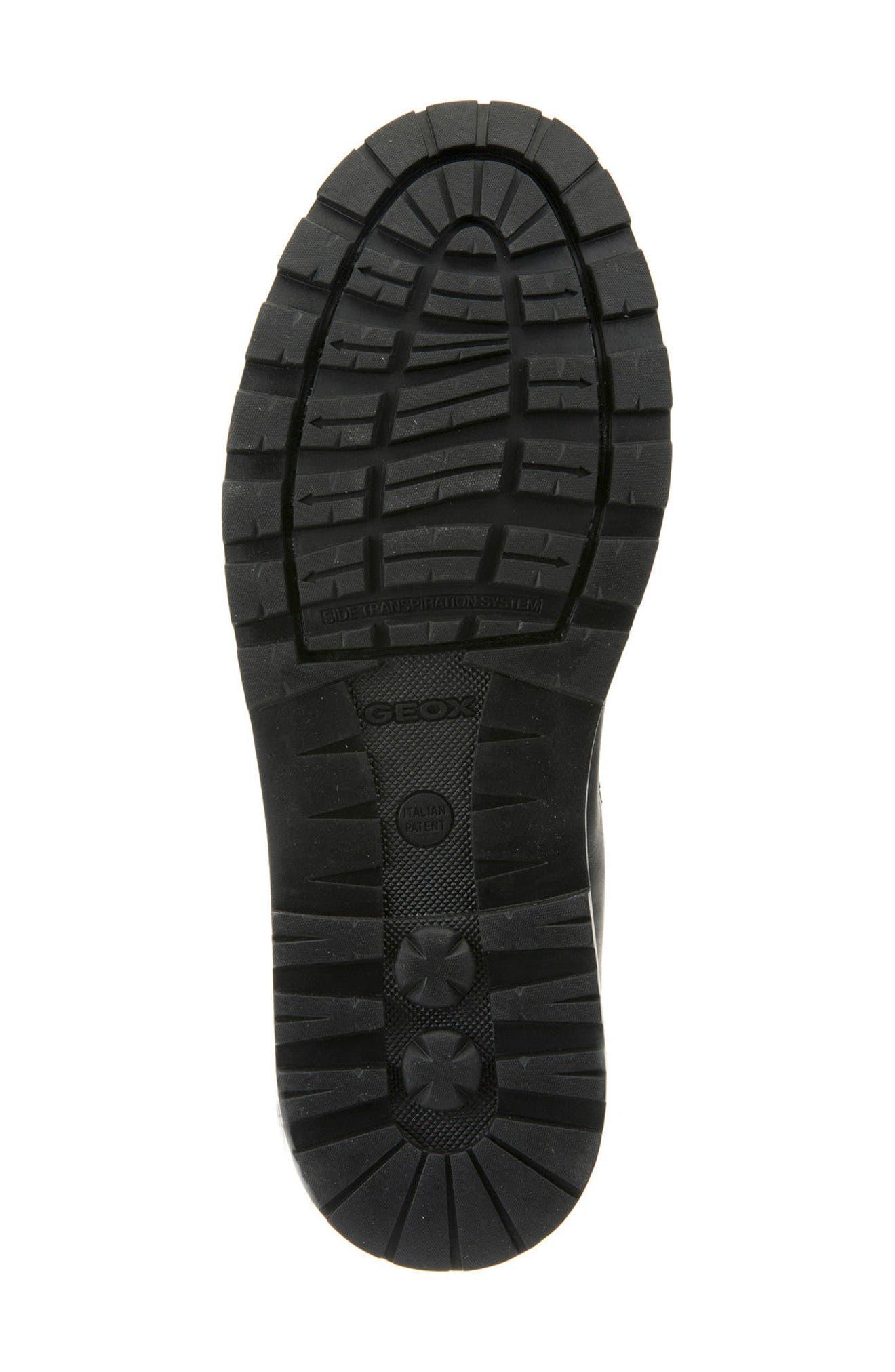 Makim Waterproof Plain Toe Boot,                             Alternate thumbnail 6, color,                             Black