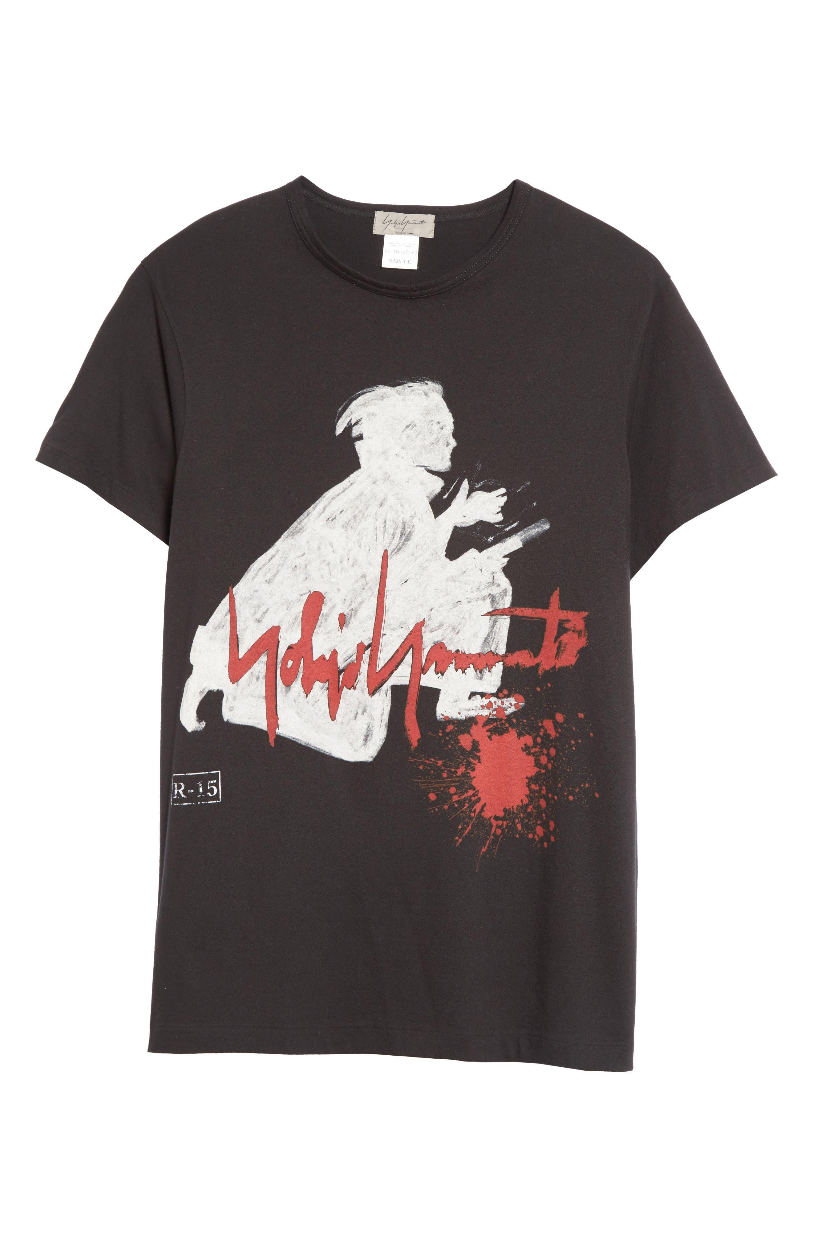 Alternate Image 6  - Yohji Yamamoto Samurai Graphic T-Shirt