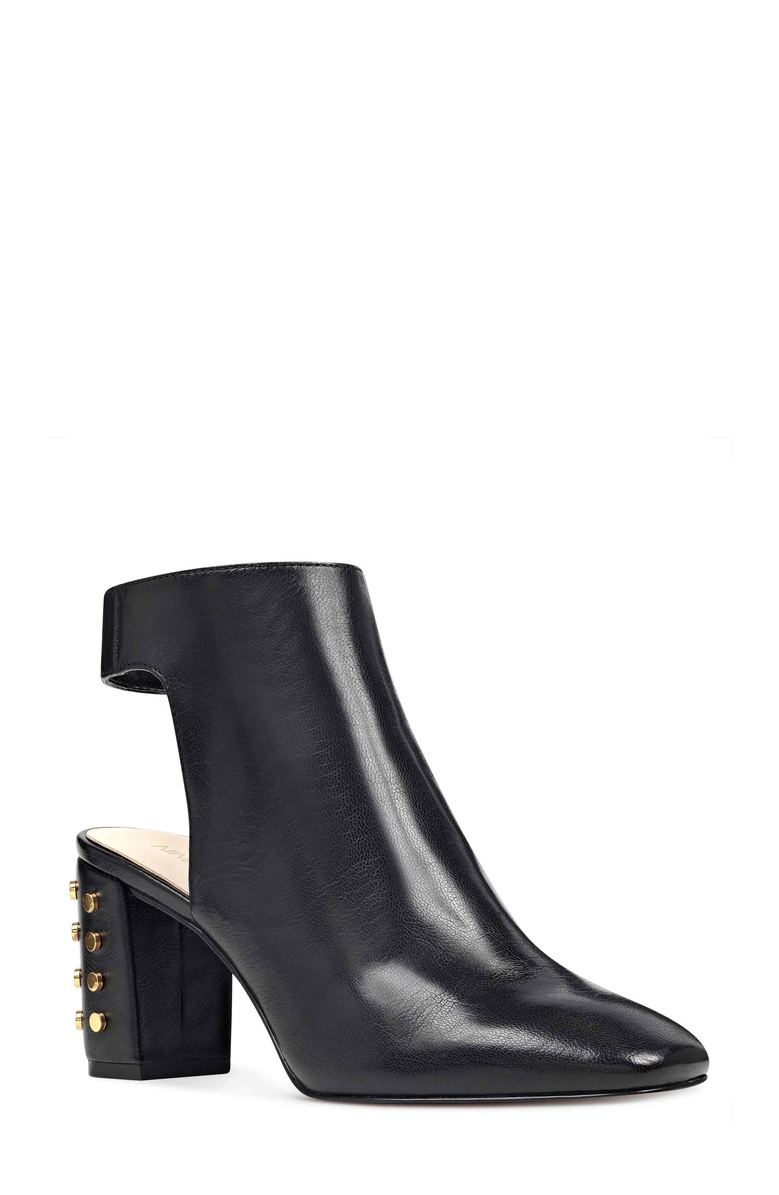 Xtravert Bootie,                         Main,                         color, Black Leather