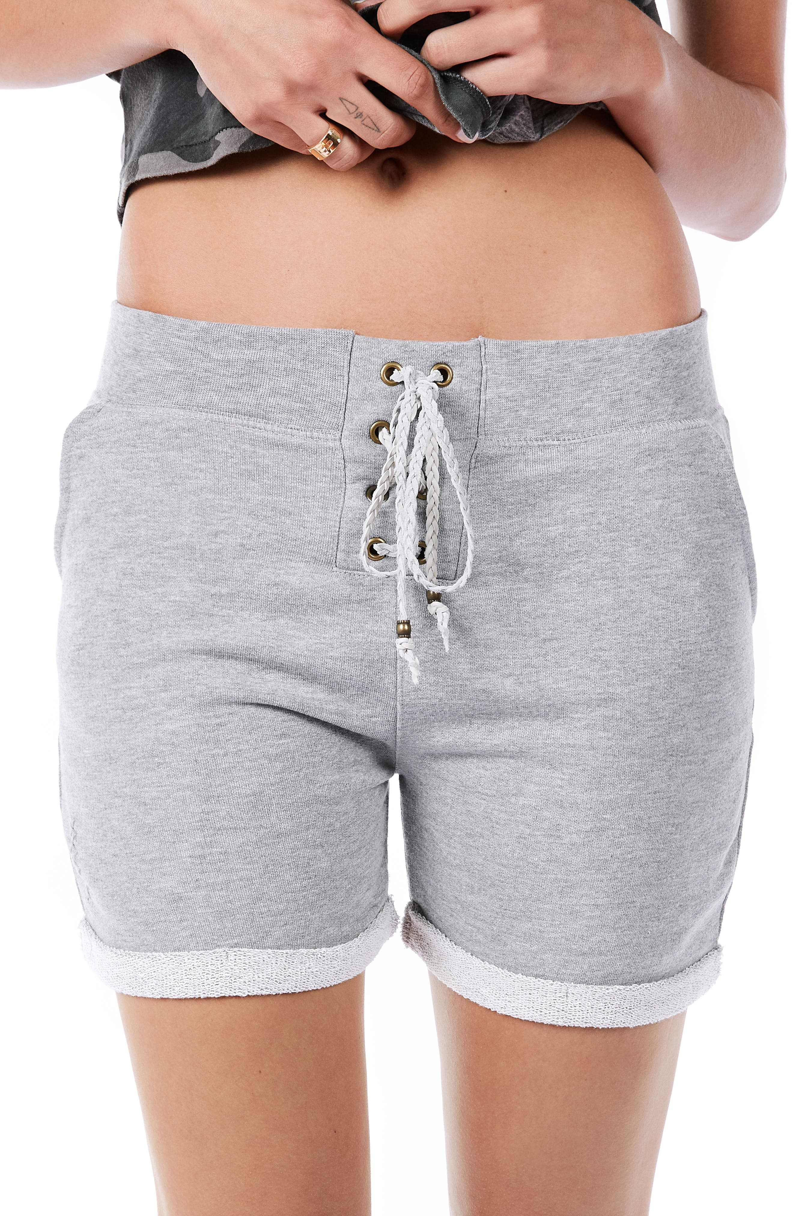Ragdoll Lace-Up Shorts
