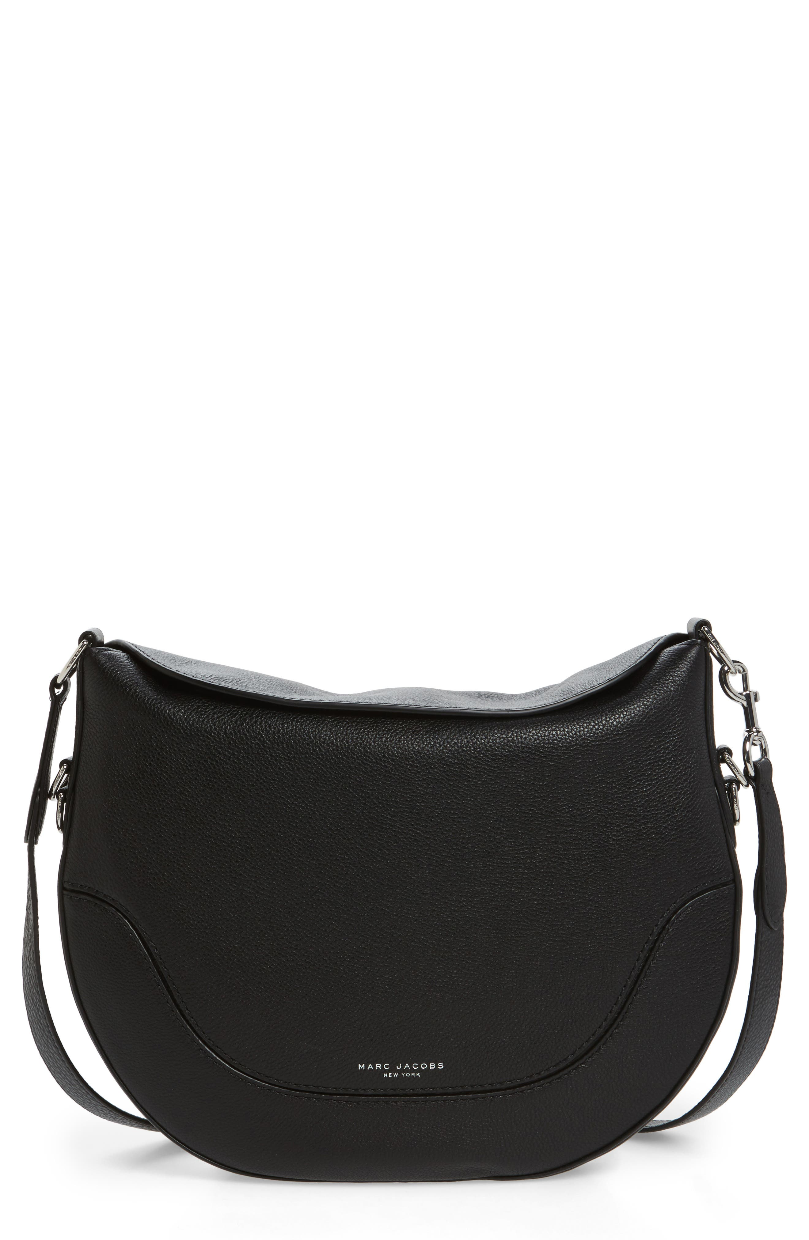Main Image - MARC JACOBS Leather Shoulder Bag