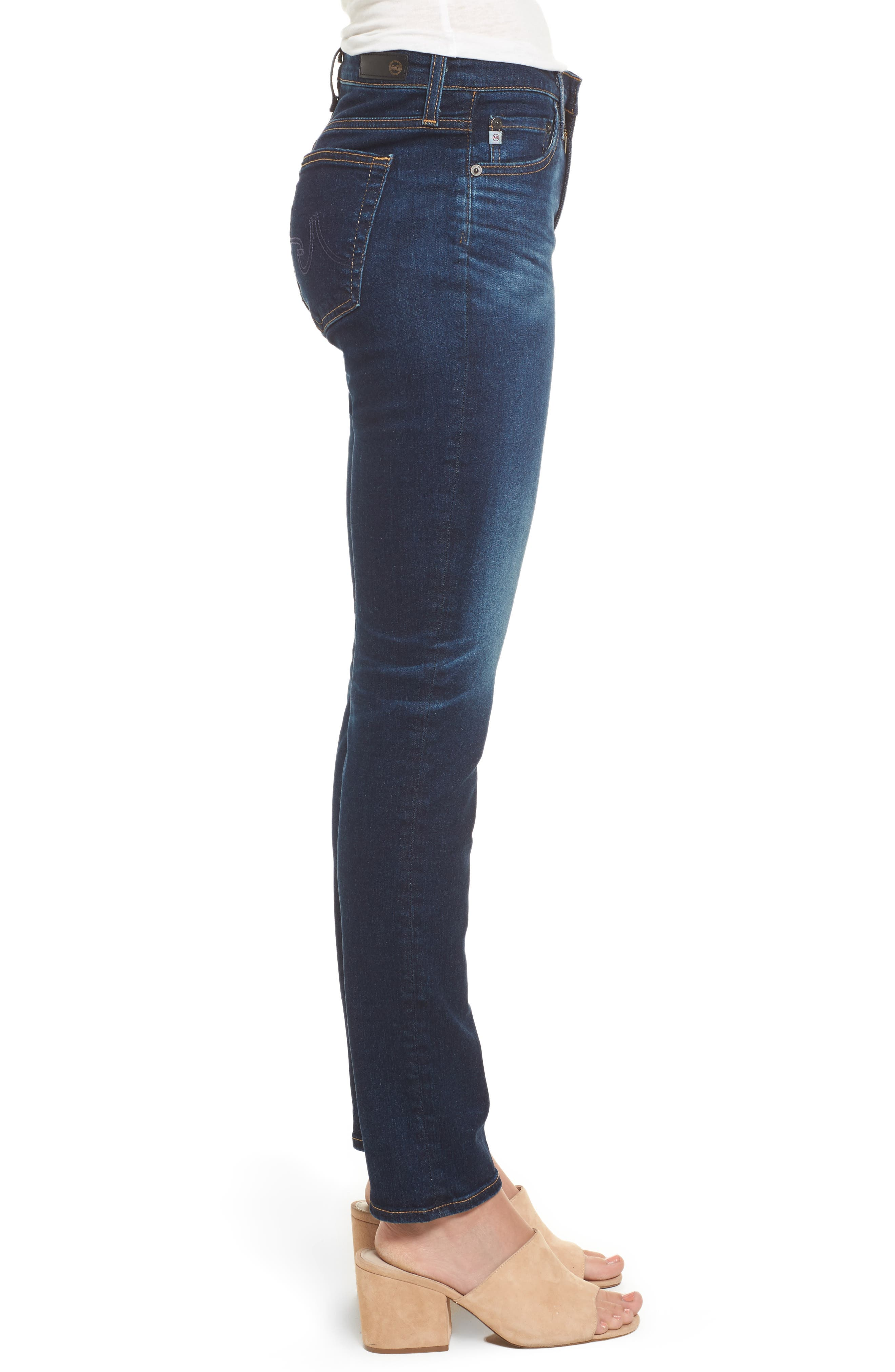 Alternate Image 3  - AG Prima Skinny Jeans (4 Year Rapids)