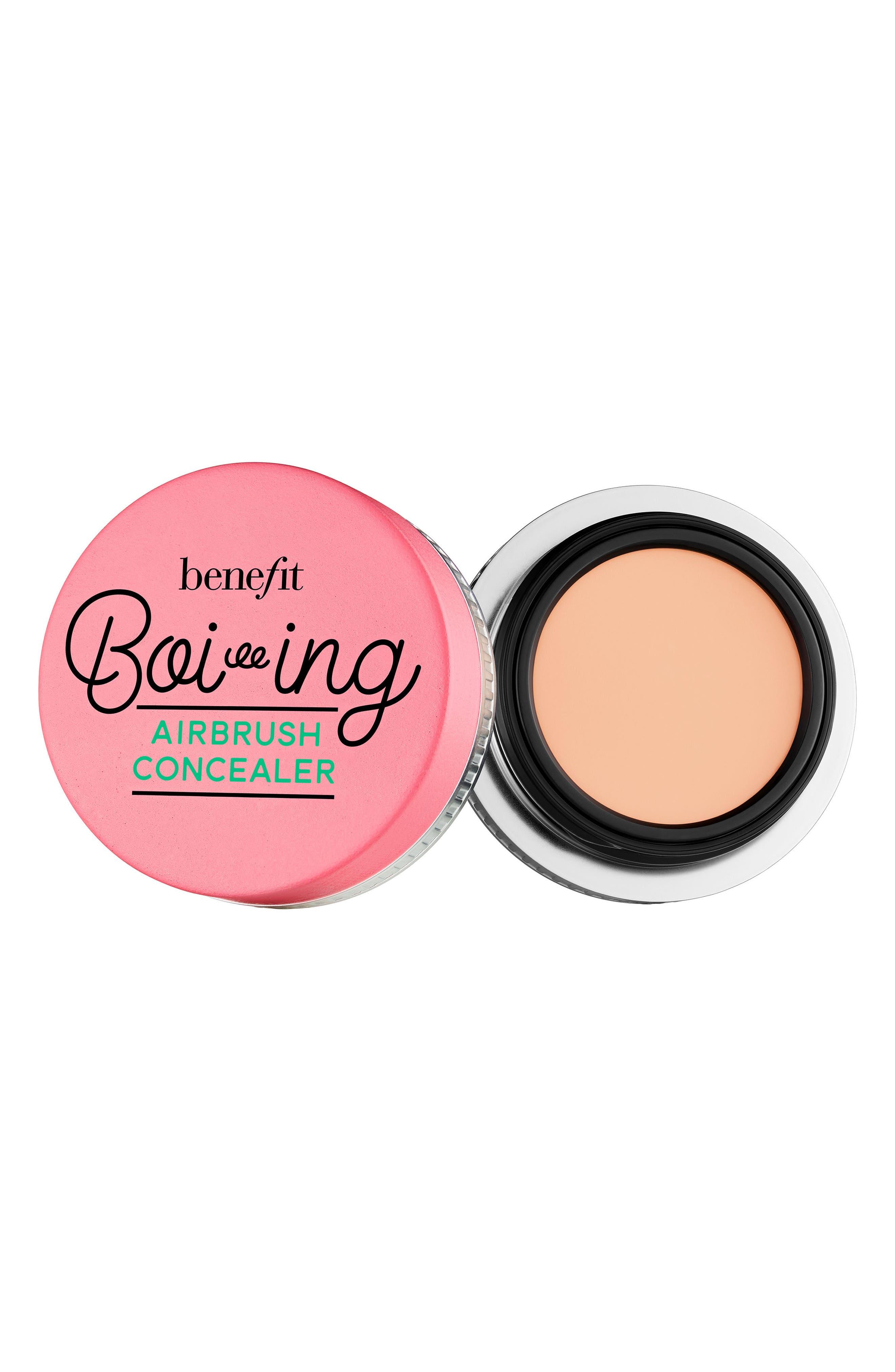 Benefit Boi-ing Airbrush Concealer,                             Main thumbnail 1, color,                             01 - Light
