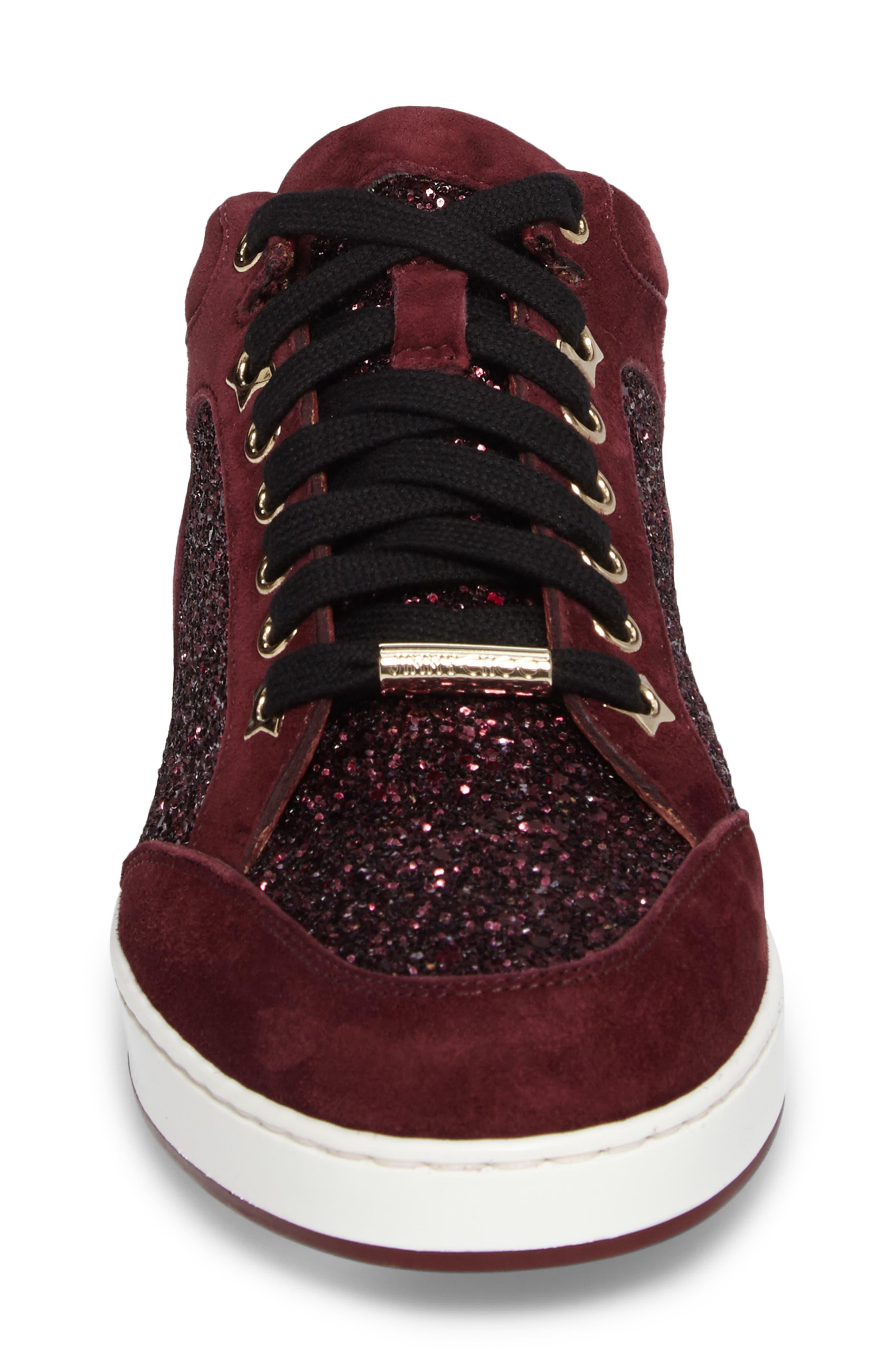 Alternate Image 4  - Jimmy Choo Miami Low Top Sneaker (Women)
