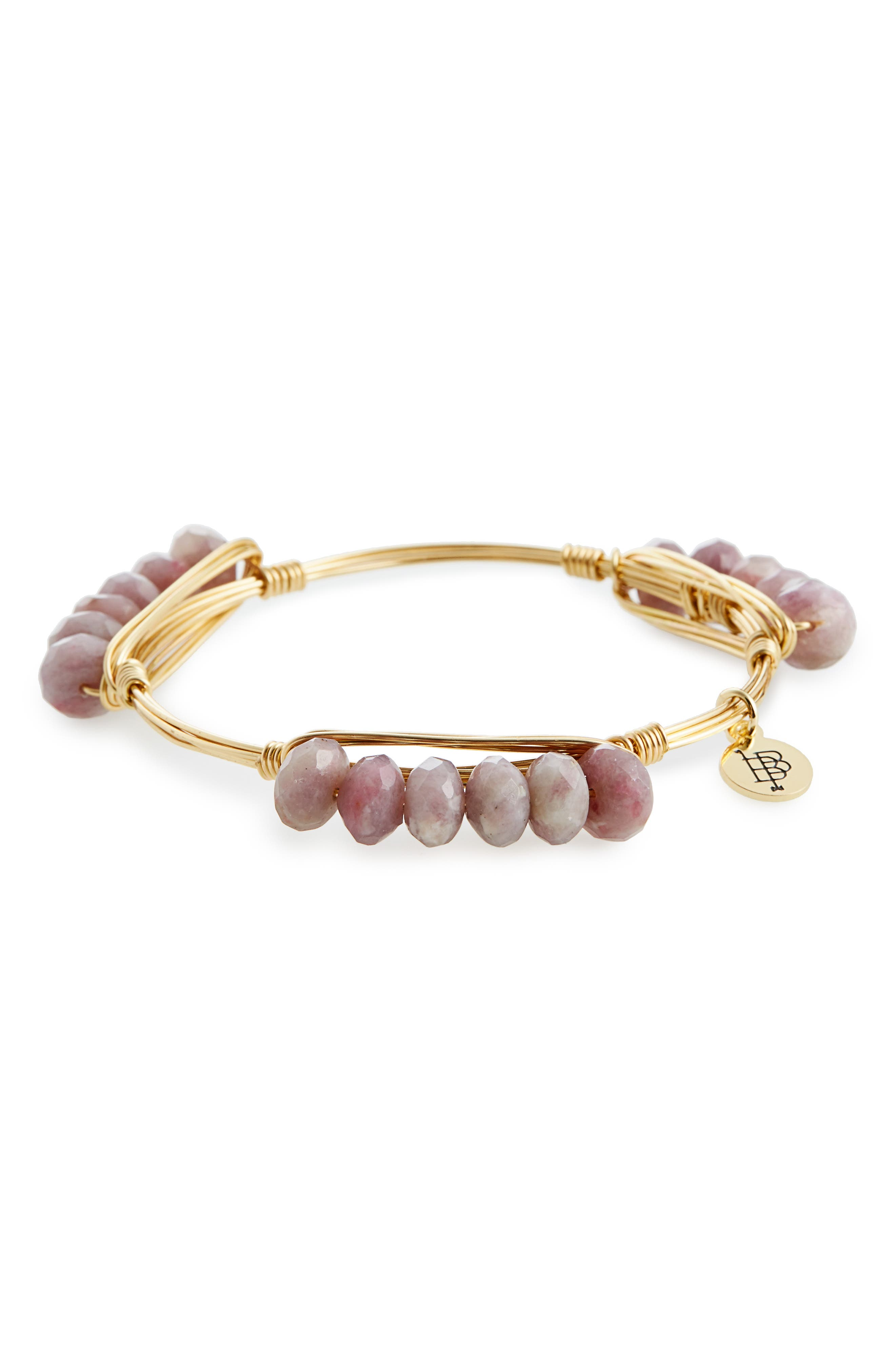 Main Image - Bourbon and Boweties Agate Bracelet
