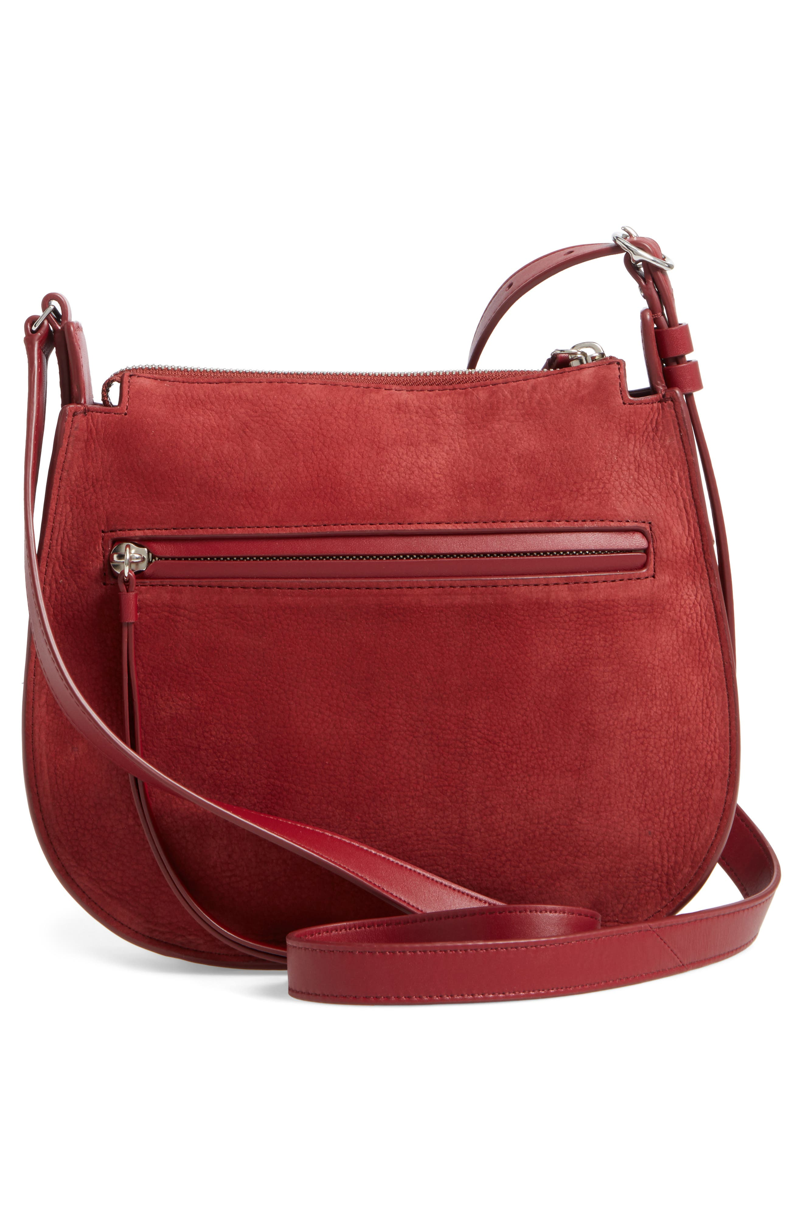 Alternate Image 3  - ALLSAINTS Ray Nubuck Crossbody Bag (Nordstrom Exclusive)