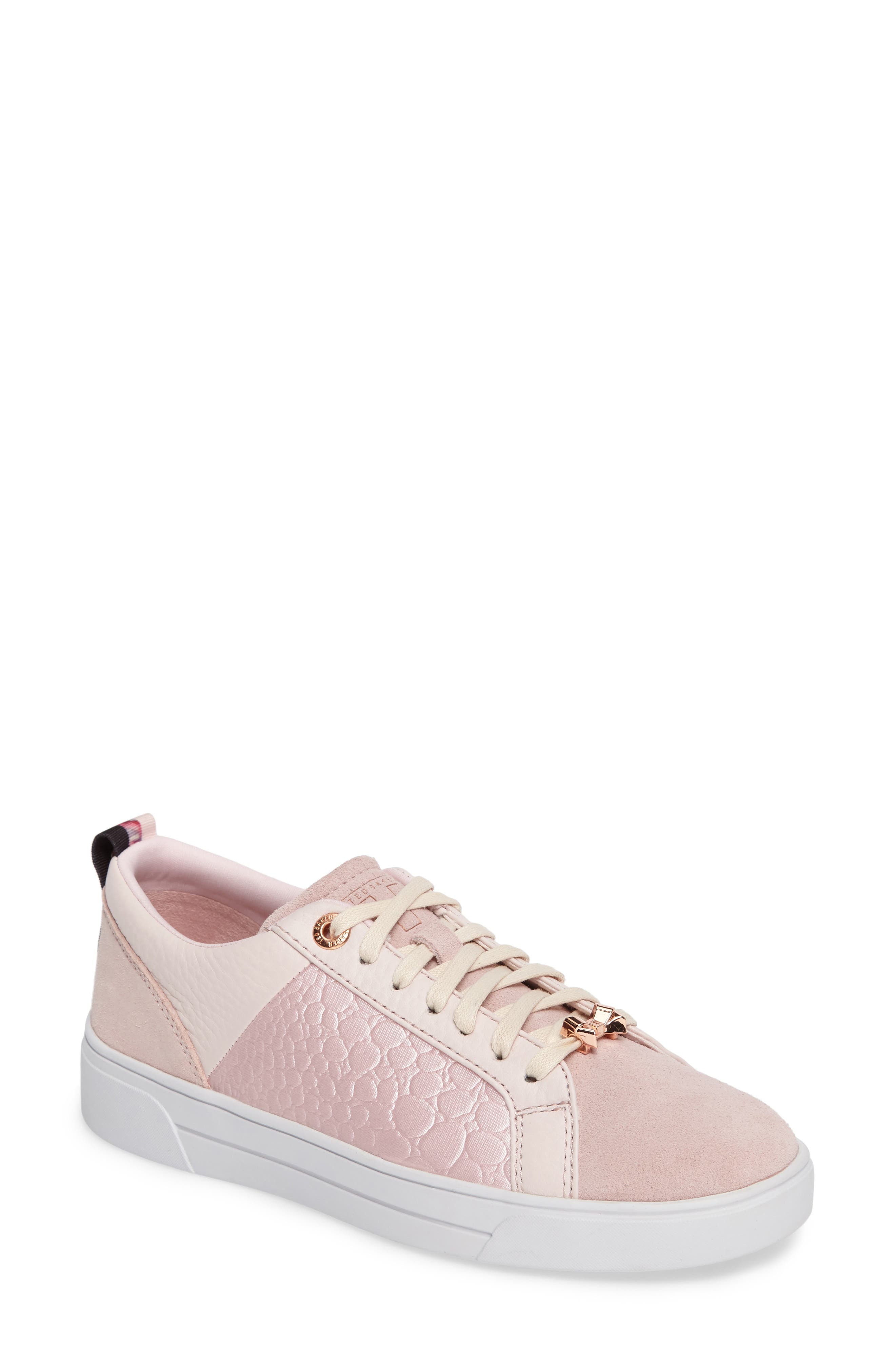 Kulei Sneaker,                         Main,                         color, Light Pink Leather
