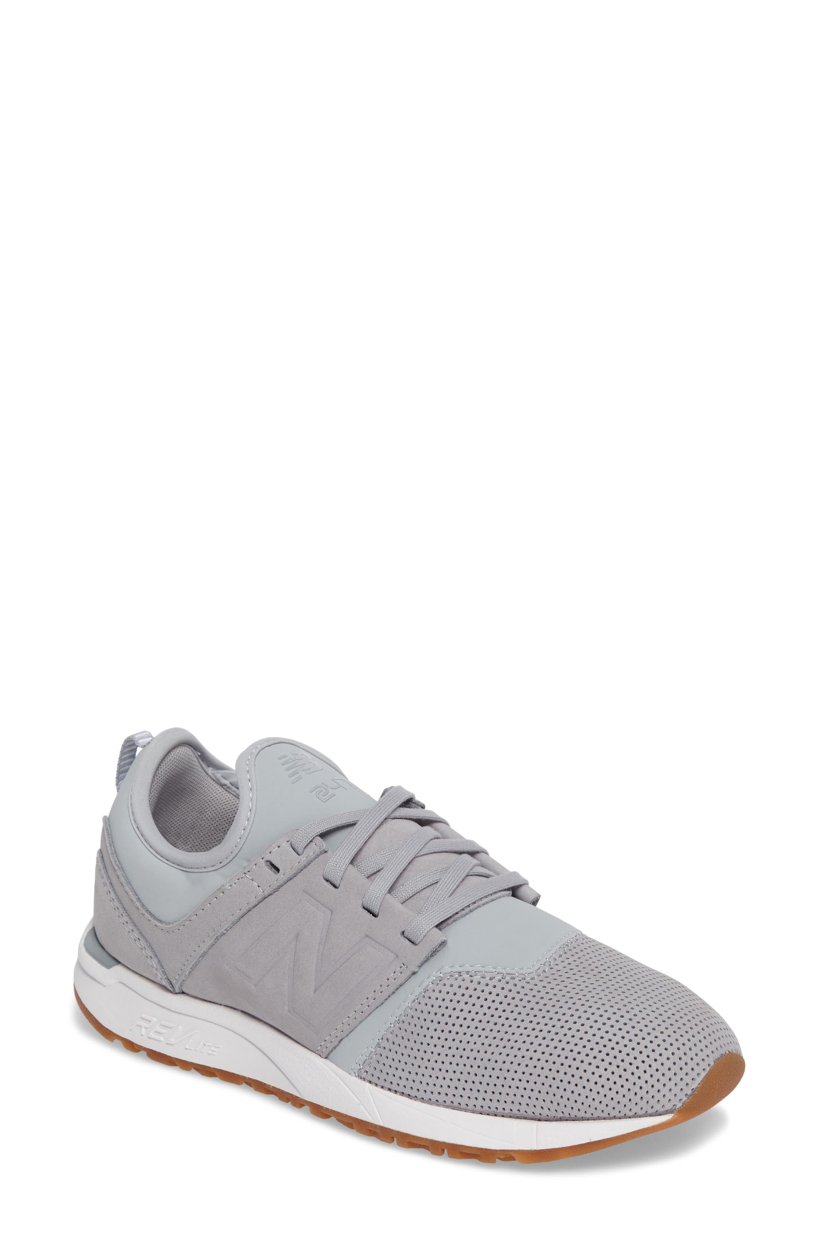 Alternate Image 1 Selected - New Balance Sport Style 247 Sneaker (Women)