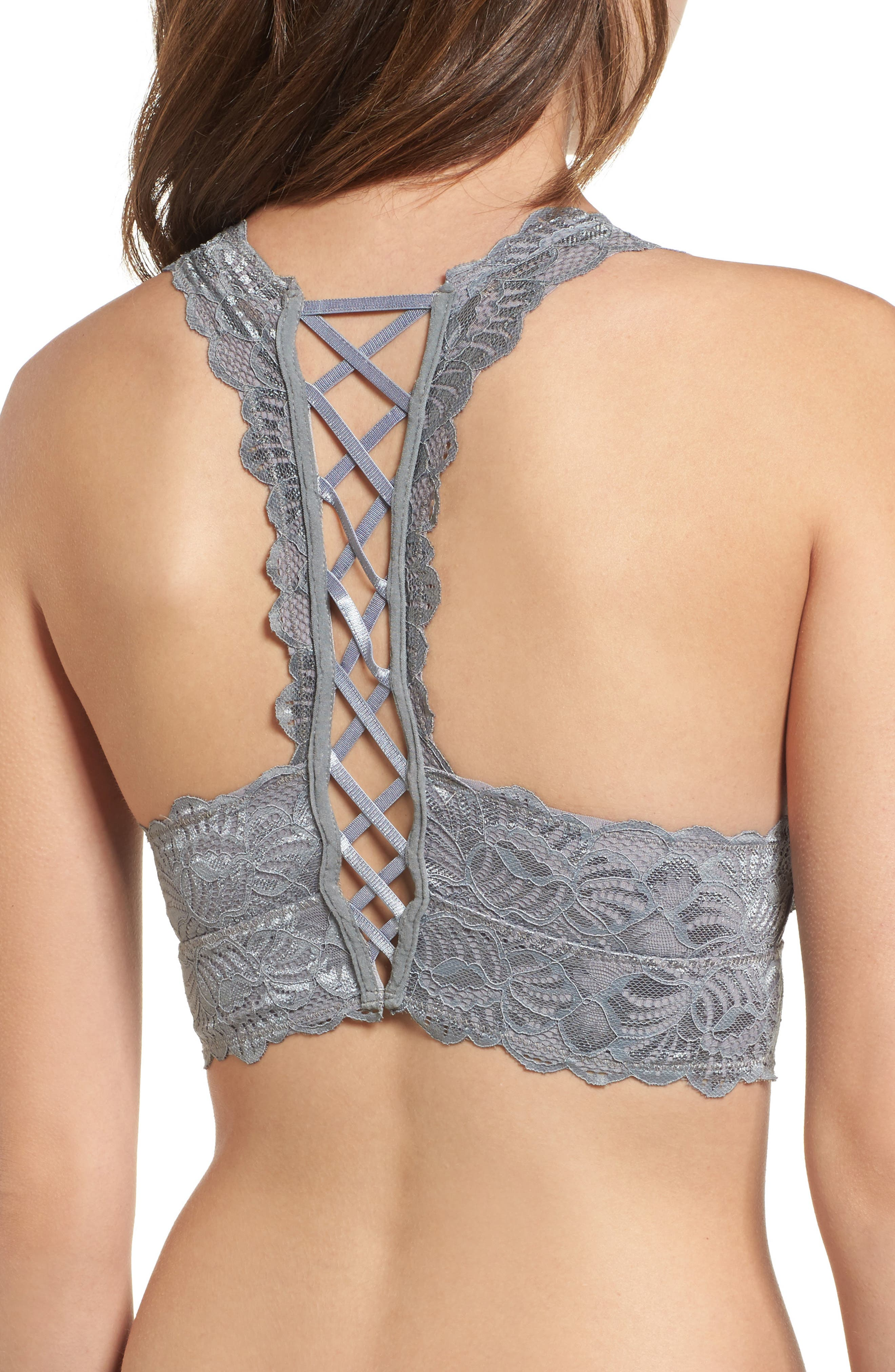 Alternate Image 2  - Lira Clothing Cherish Lace Bralette