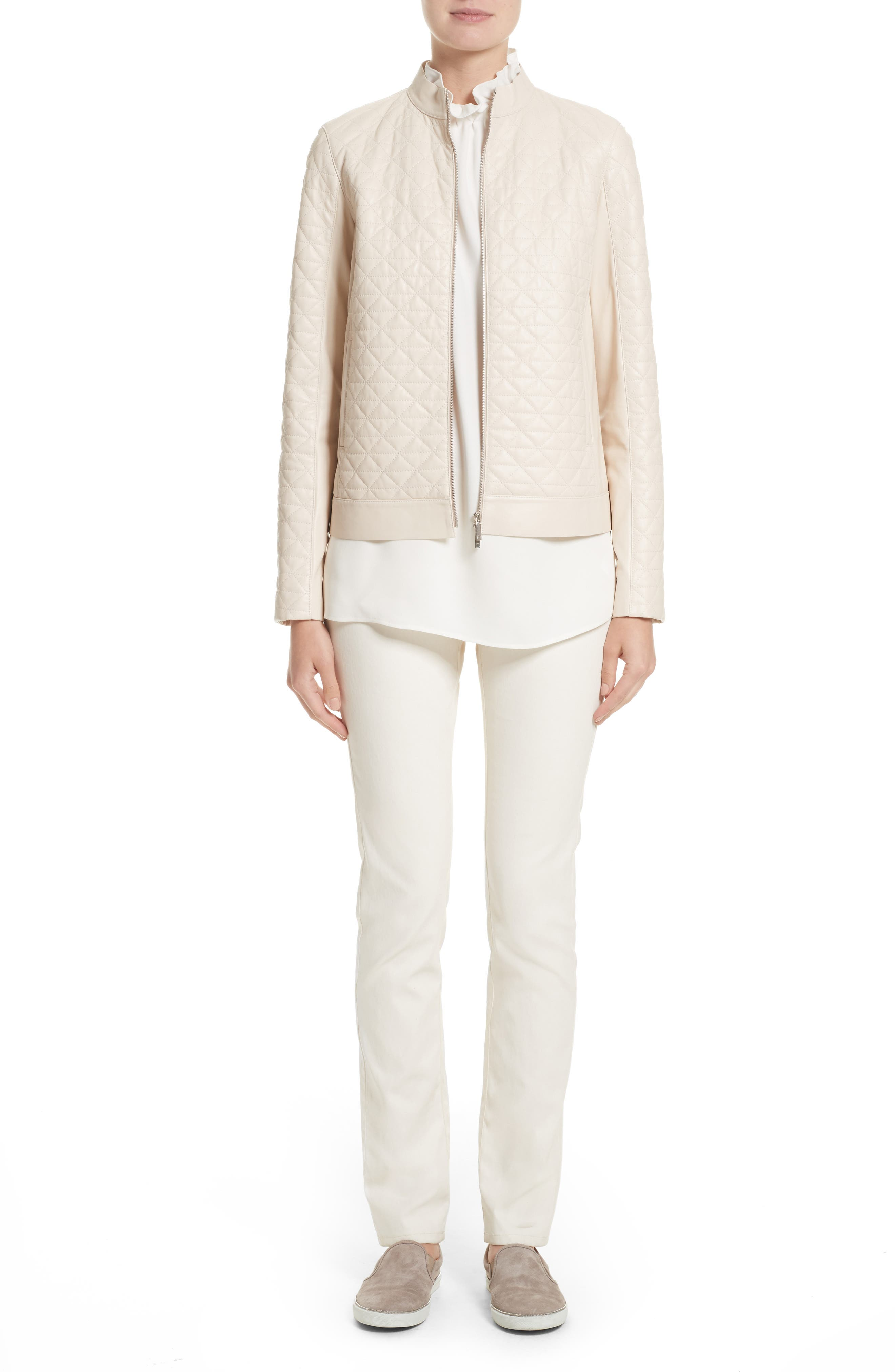 Alternate Image 8  - Lafayette 148 New York Percy Silk Double Georgette Blouse