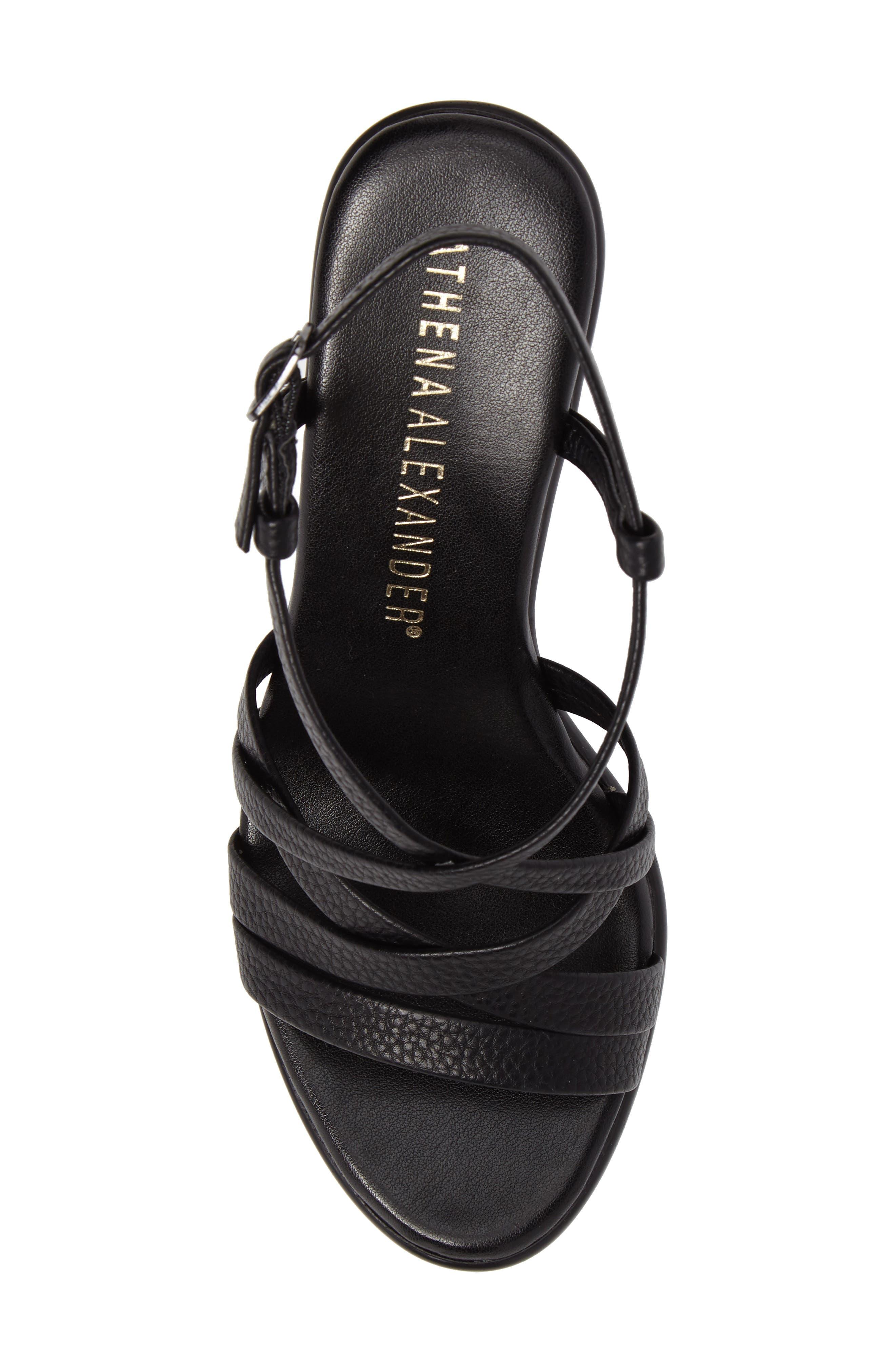 Alternate Image 5  - Athena Alexander Gabrielaa Cross Strap Sandal (Women)
