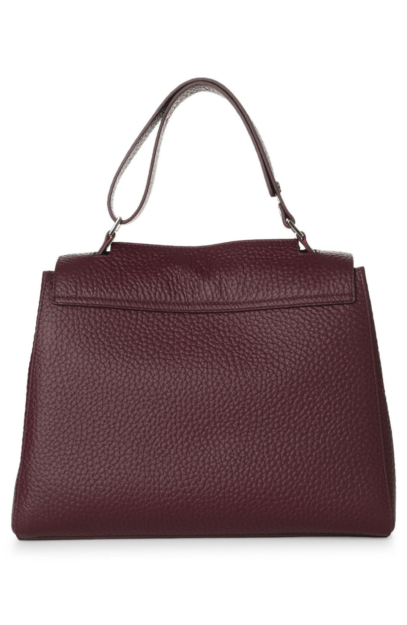 Alternate Image 2  - Orciani Medium Sveva Soft Leather Top Handle Satchel