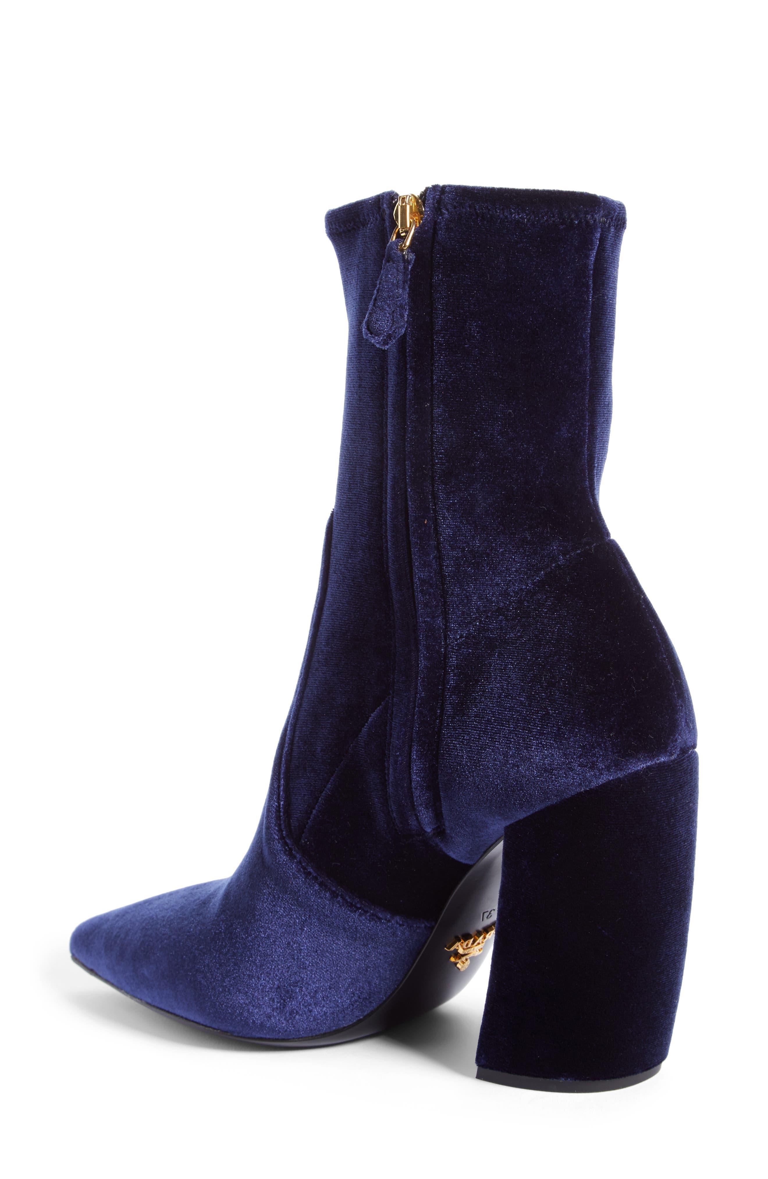 Alternate Image 2  - Prada Block Heel Bootie (Women)