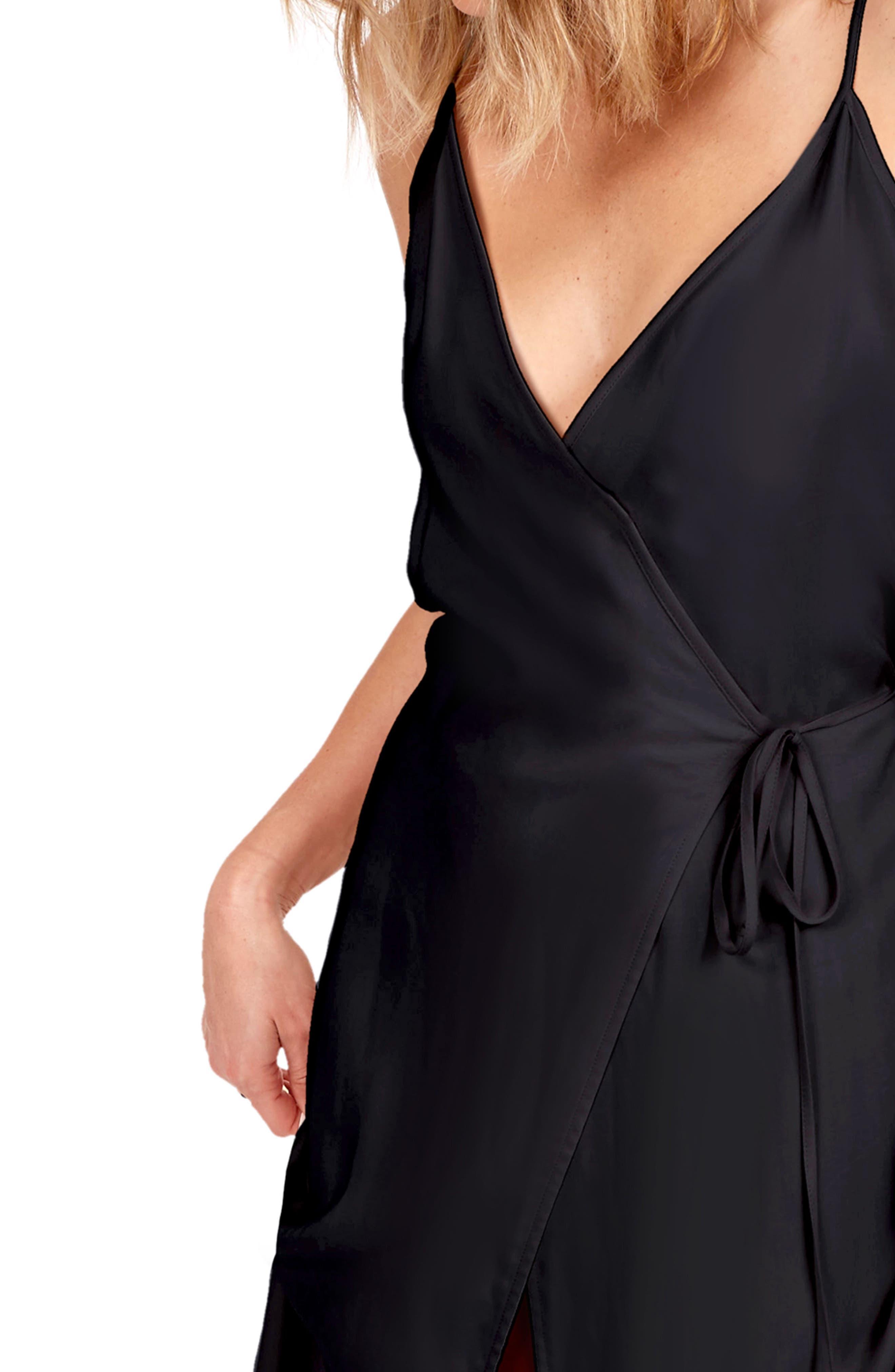 Alternate Image 4  - Delacy Leo Wrap Maxi Dress