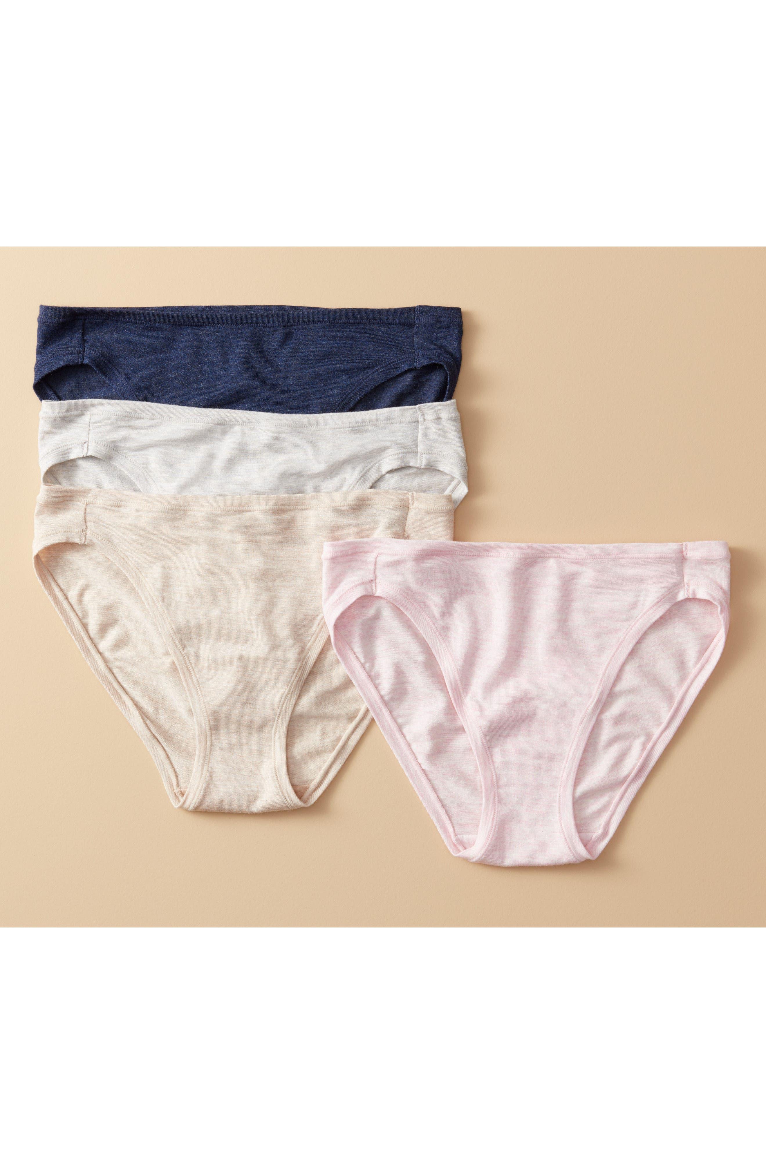 Alternate Image 6  - Natori Bliss Essence Bikini (3 for $45)