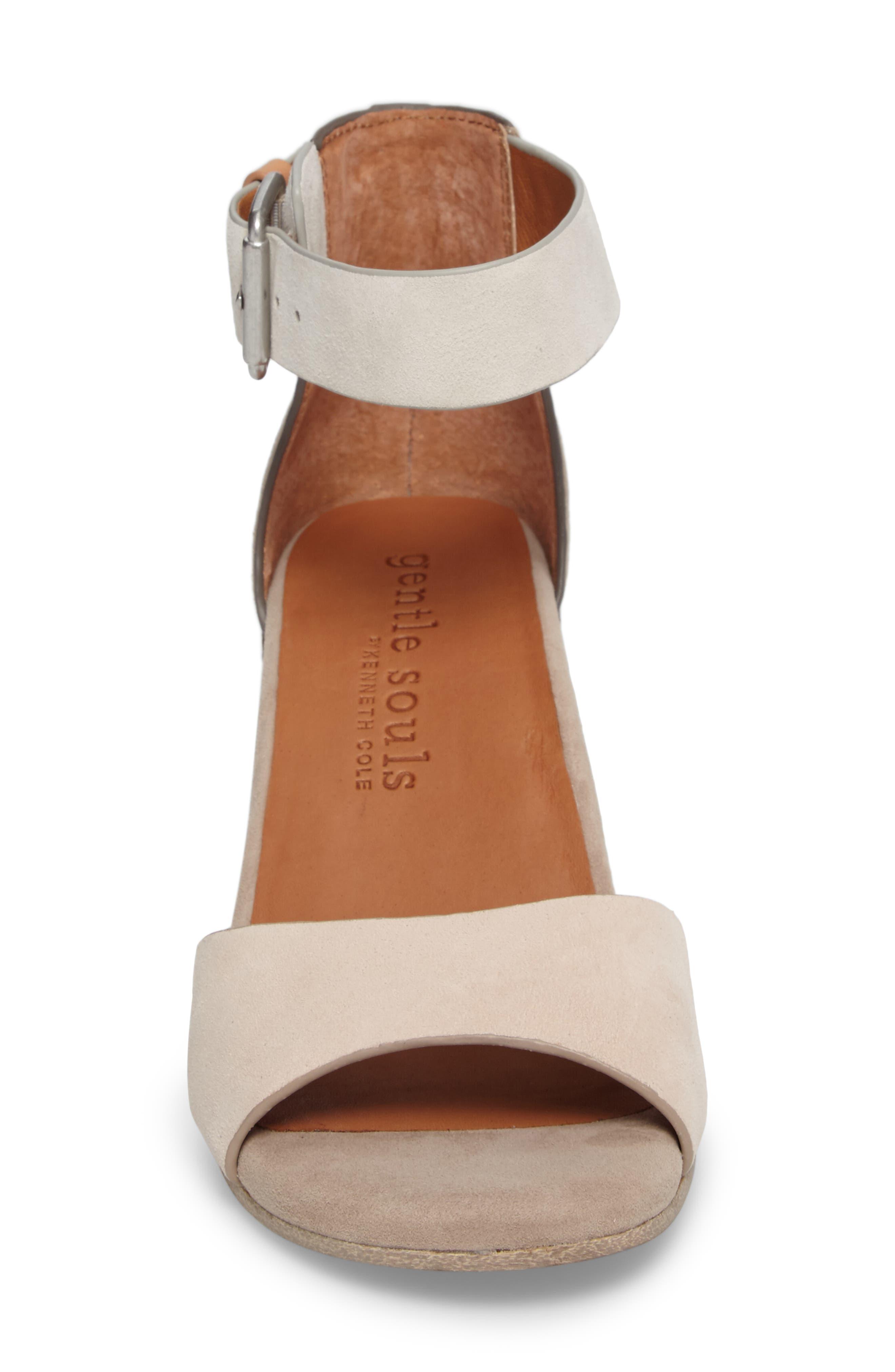 Alternate Image 4  - Gentle Souls Christa Block Heel Sandal (Women)