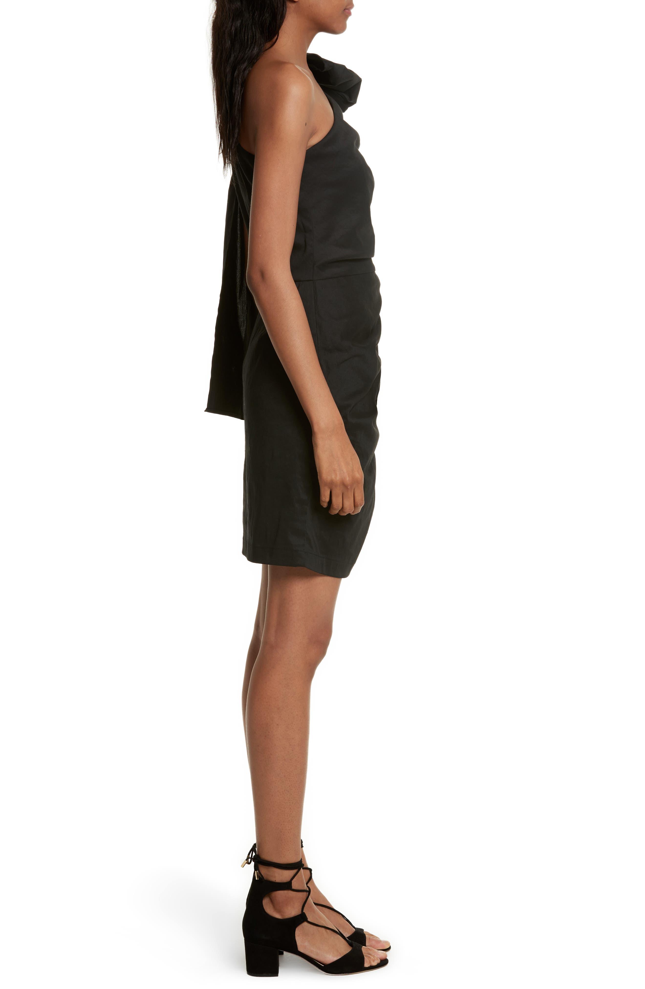 Alternate Image 3  - Sea Bow One-Shoulder Dress
