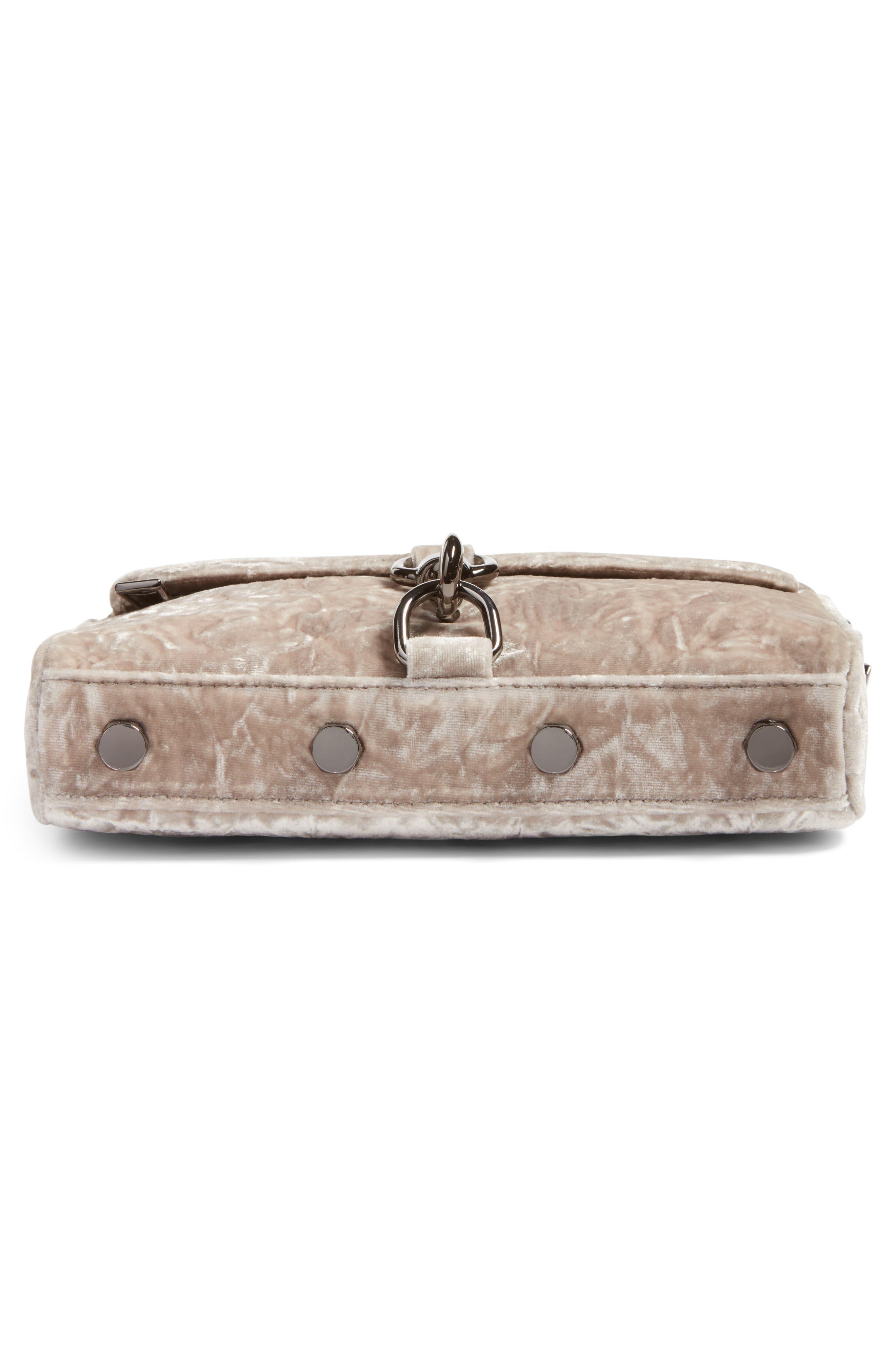Alternate Image 6  - Rebecca Minkoff Mini MAC Velvet Convertible Crossbody Bag (Nordstrom Exclusive)