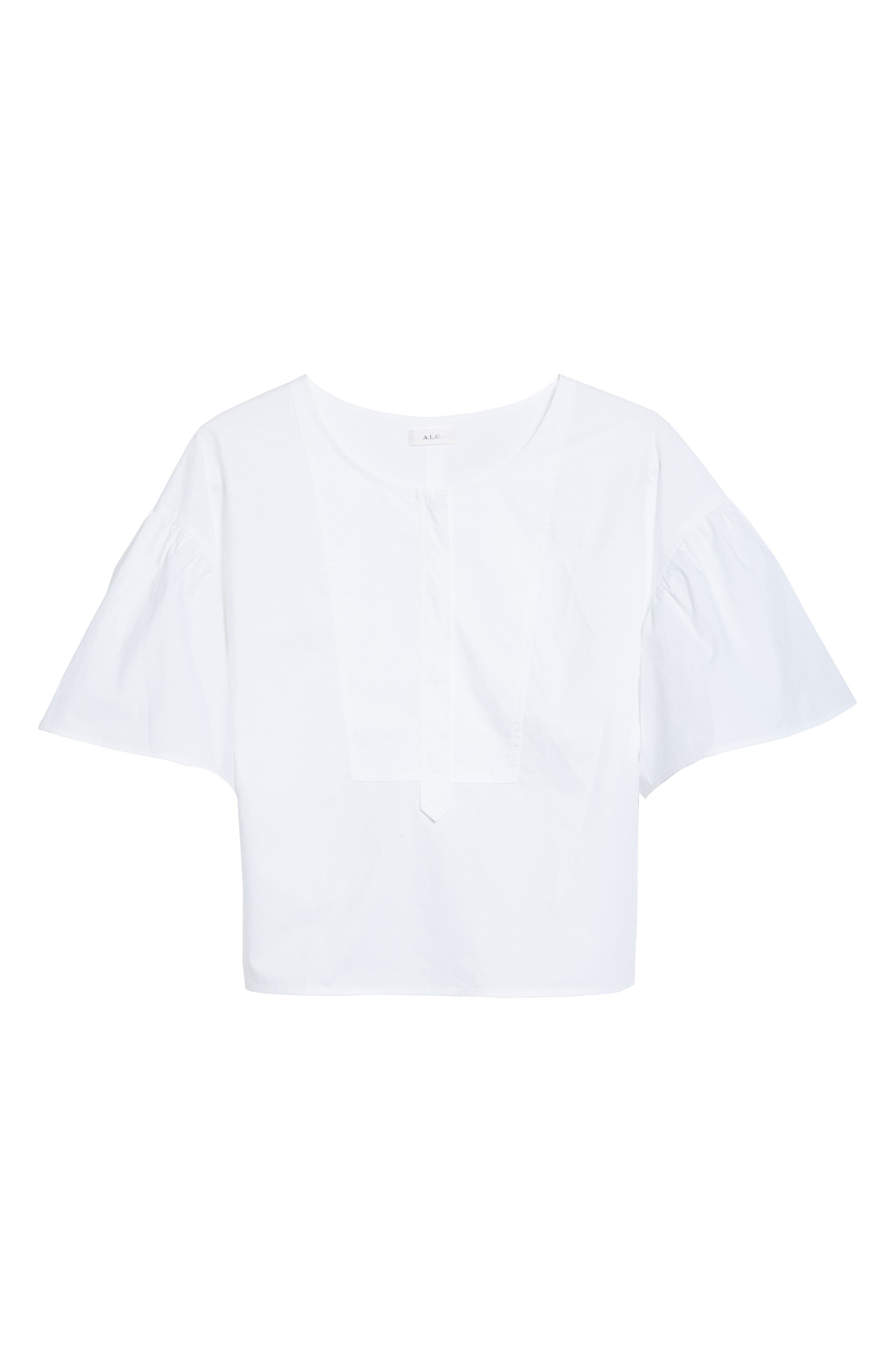 Alternate Image 7  - A.L.C. Kyrie Cotton Top