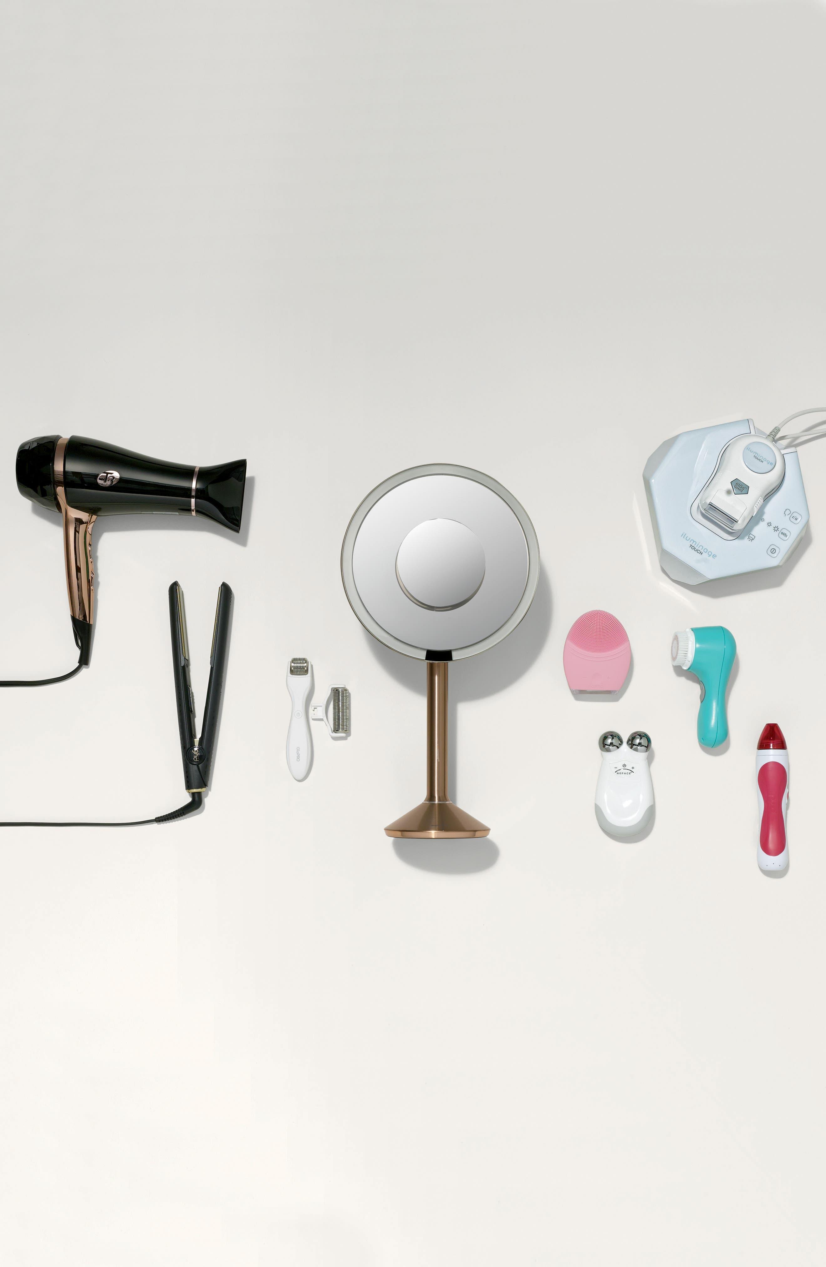 Alternate Image 7  - simplehuman Round Sensor Mirror Pro (8-Inch)