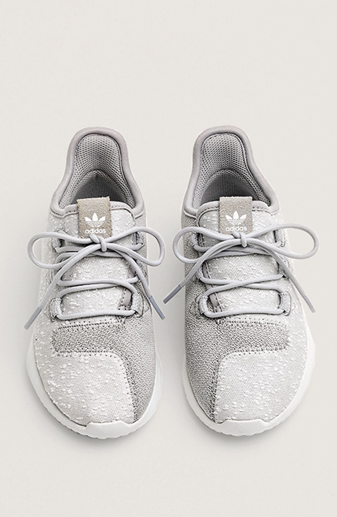 Alternate Image 7  - adidas Tubular Shadow Knit Sneaker (Big Kid)